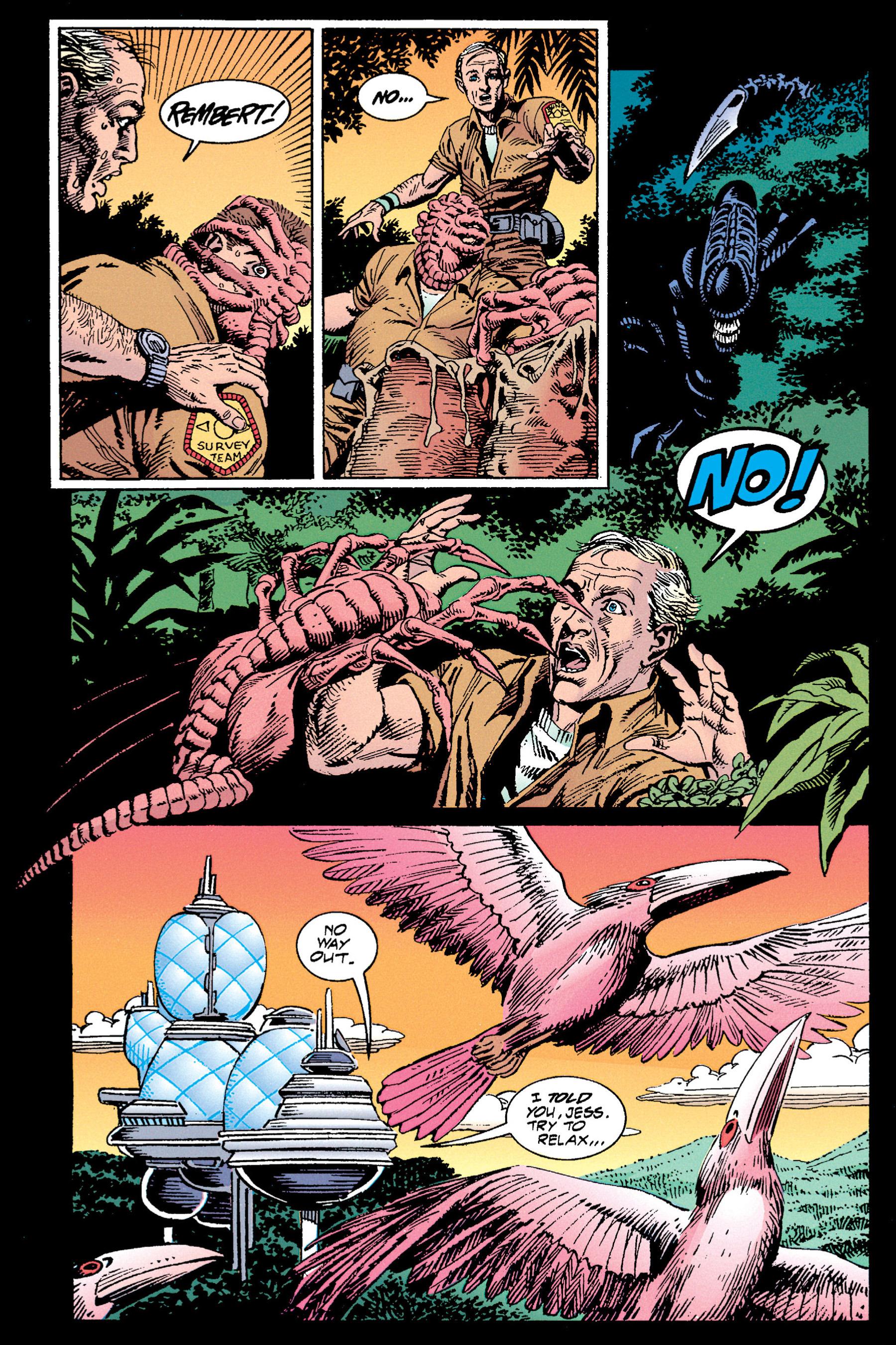 Read online Aliens vs. Predator Omnibus comic -  Issue # _TPB 1 Part 3 - 71