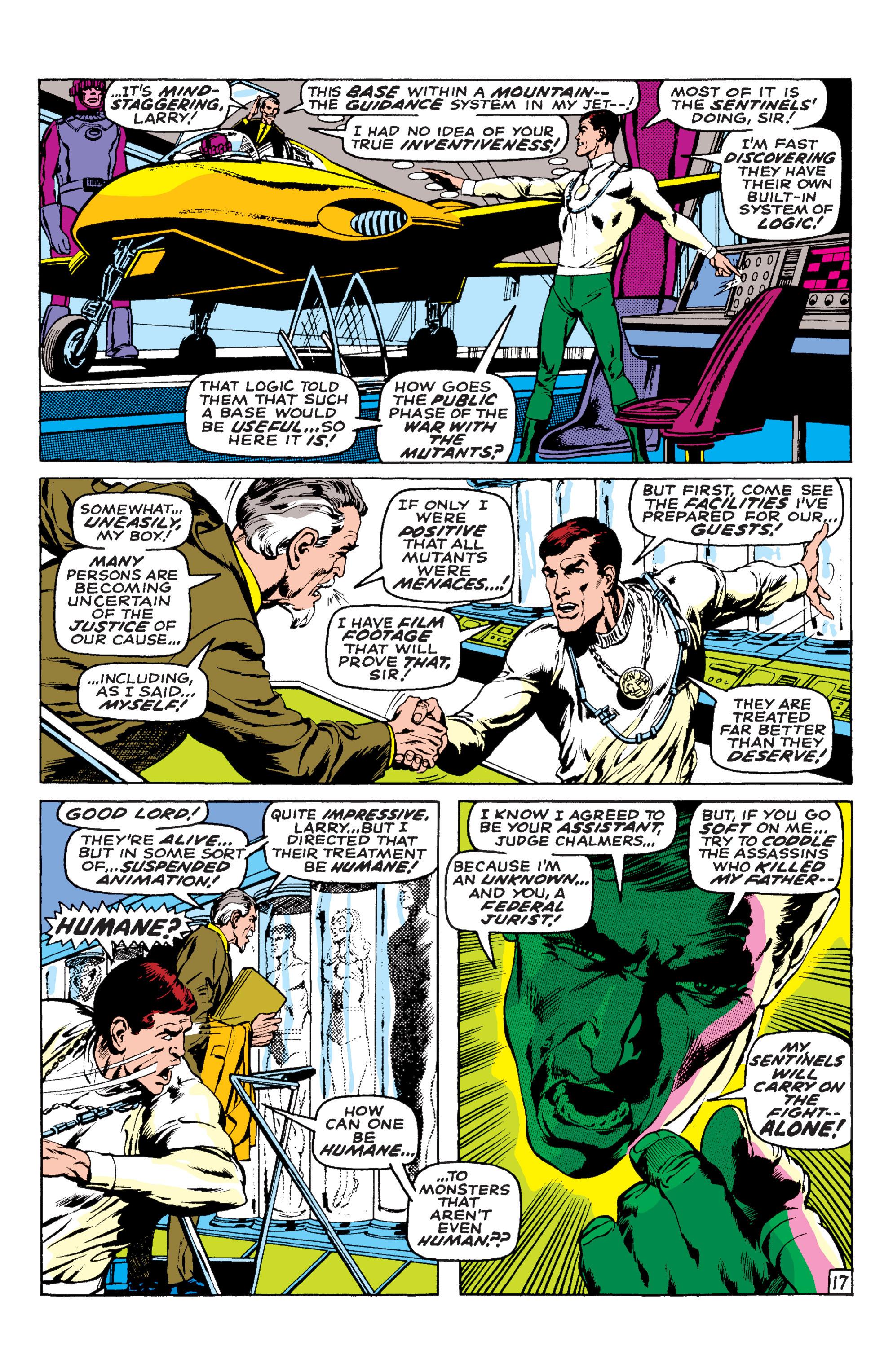 Read online Uncanny X-Men (1963) comic -  Issue #58 - 17