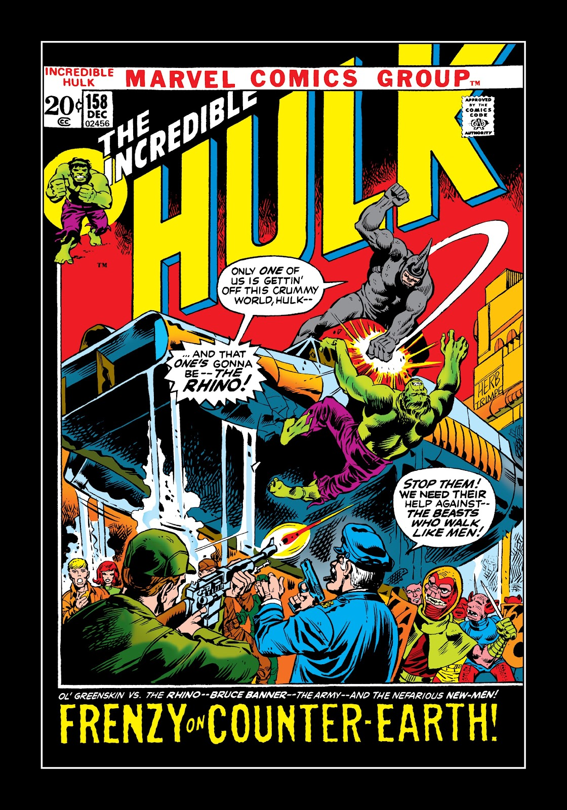 Read online Marvel Masterworks: The Incredible Hulk comic -  Issue # TPB 9 (Part 1) - 30