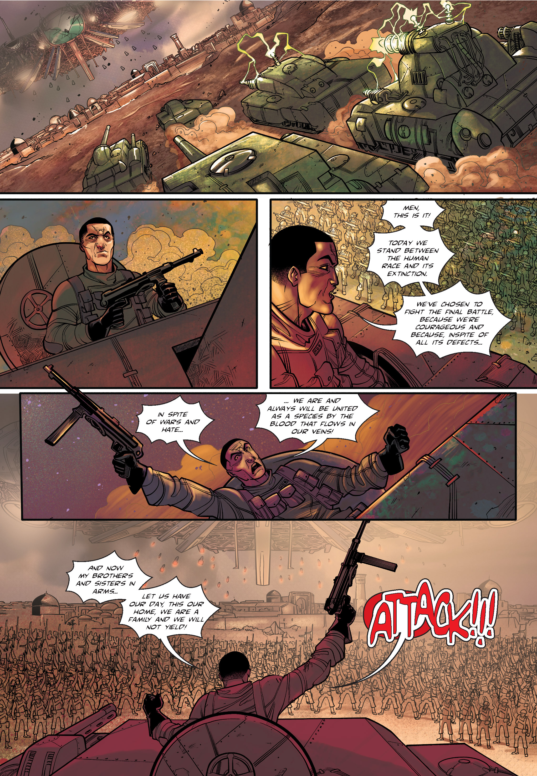 Read online The Shadow of a Terrible Thing comic -  Issue # TPB - 127