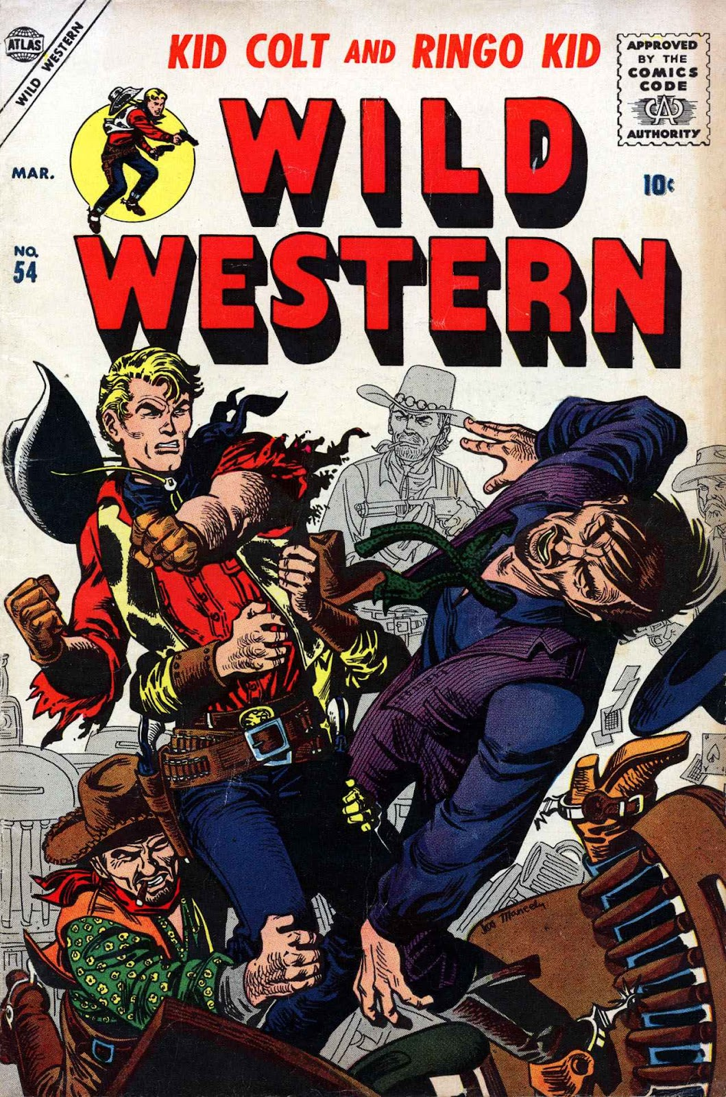 Wild Western issue 54 - Page 1