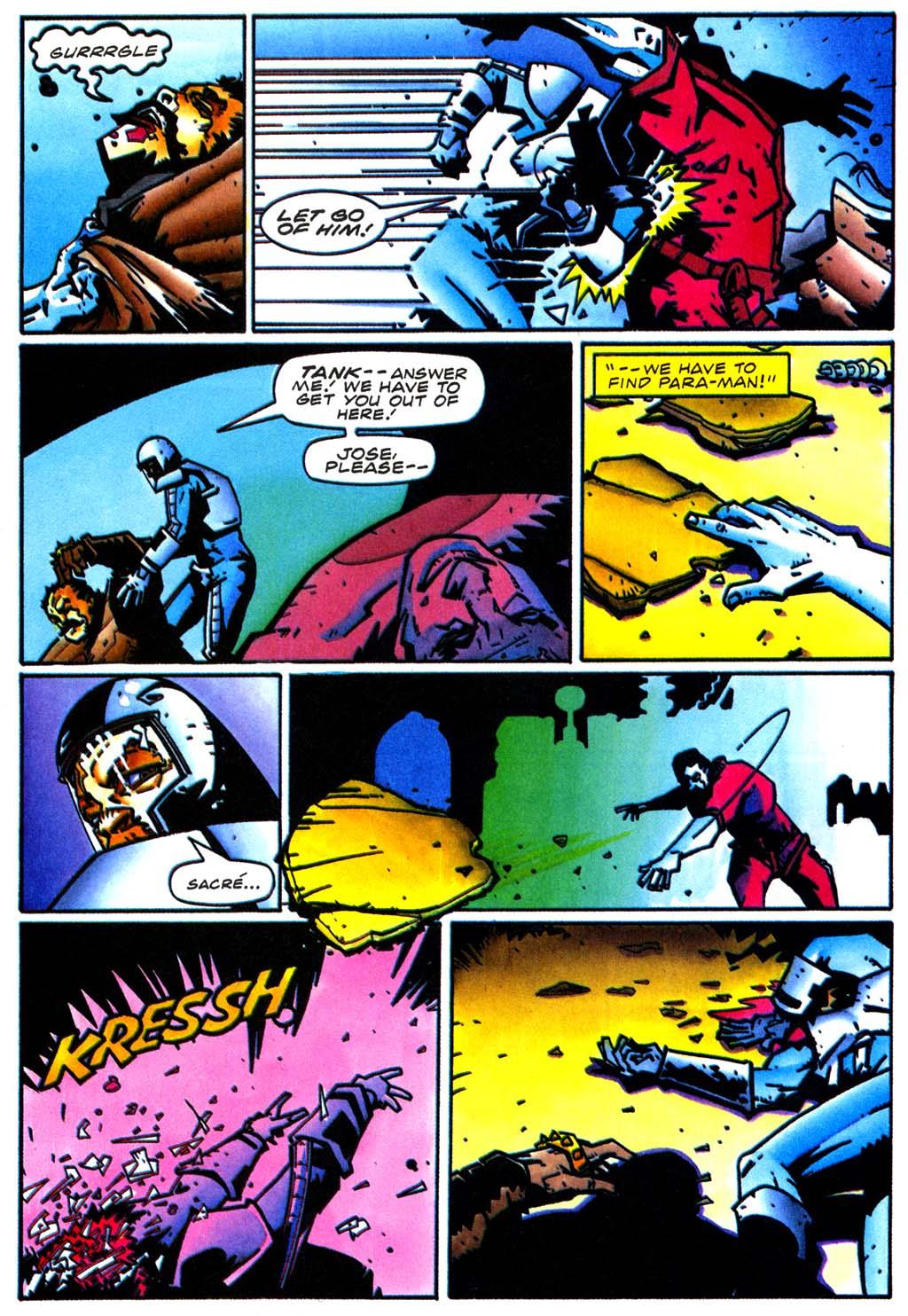 Read online Secret Weapons comic -  Issue #20 - 19
