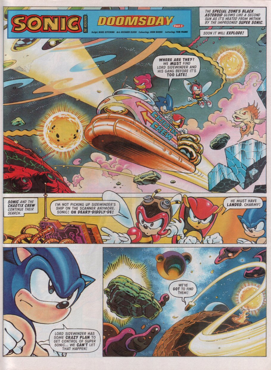 Read online Sonic the Comic comic -  Issue #99 - 3