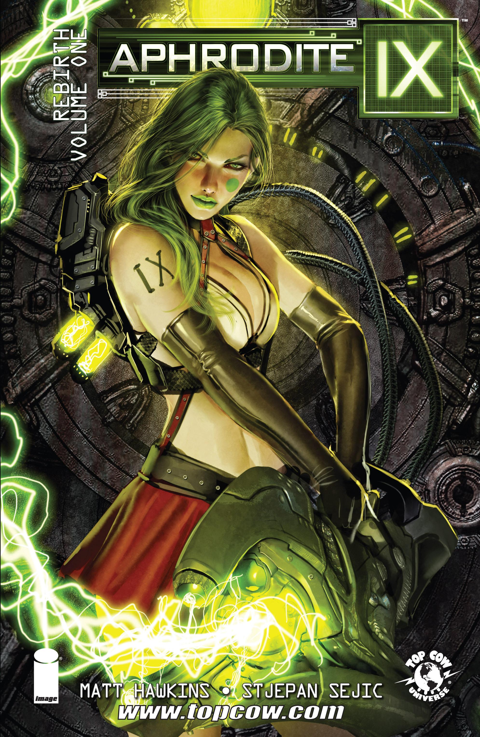 Read online Aphrodite IX (2013) comic -  Issue #Aphrodite IX (2013) _TPB 1 - 1