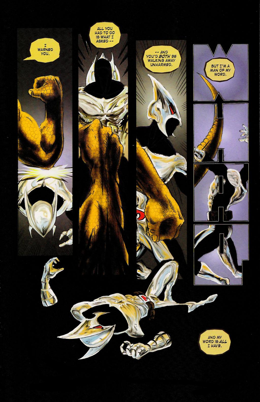 Read online ShadowHawk (2005) comic -  Issue #9 - 21