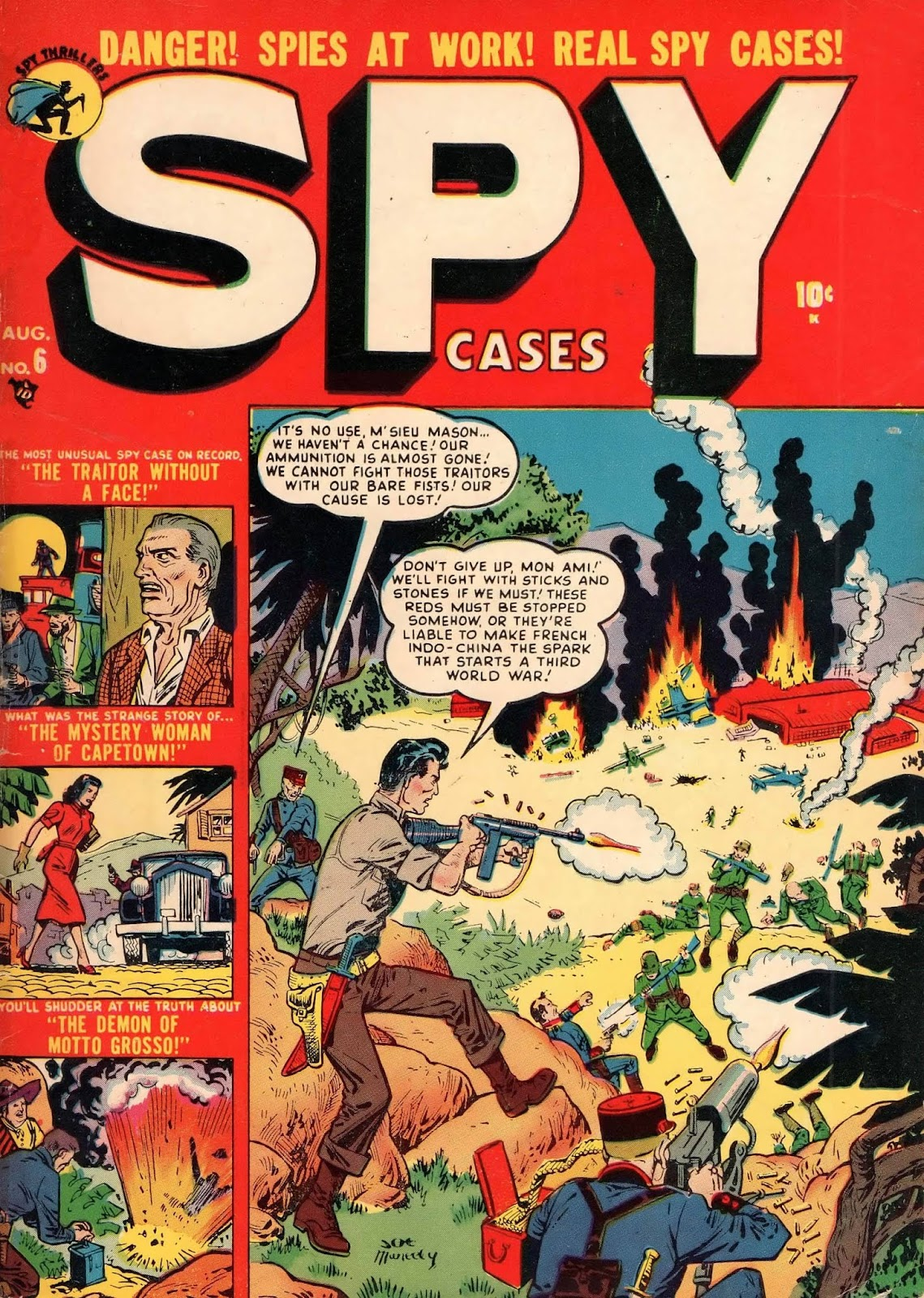 Spy Cases 6 Page 1