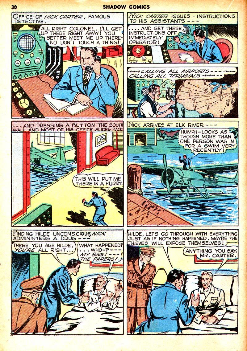 Read online Shadow Comics comic -  Issue #7 - 23