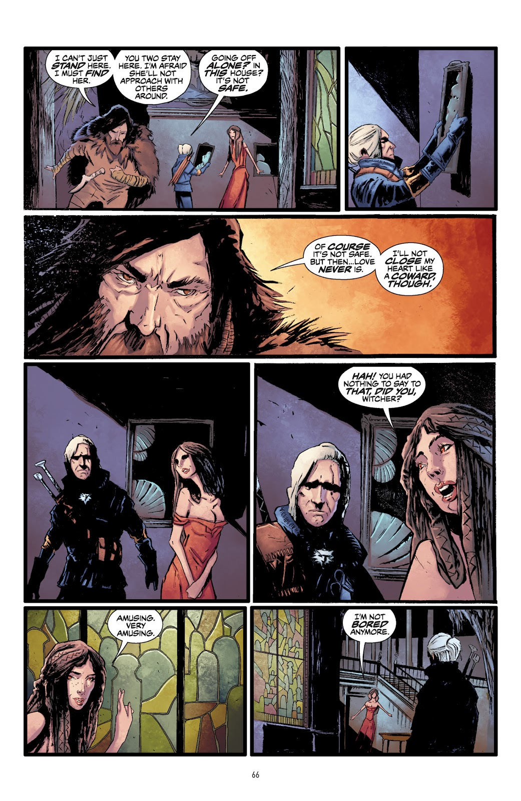 Read online The Witcher Omnibus comic -  Issue # TPB (Part 1) - 65