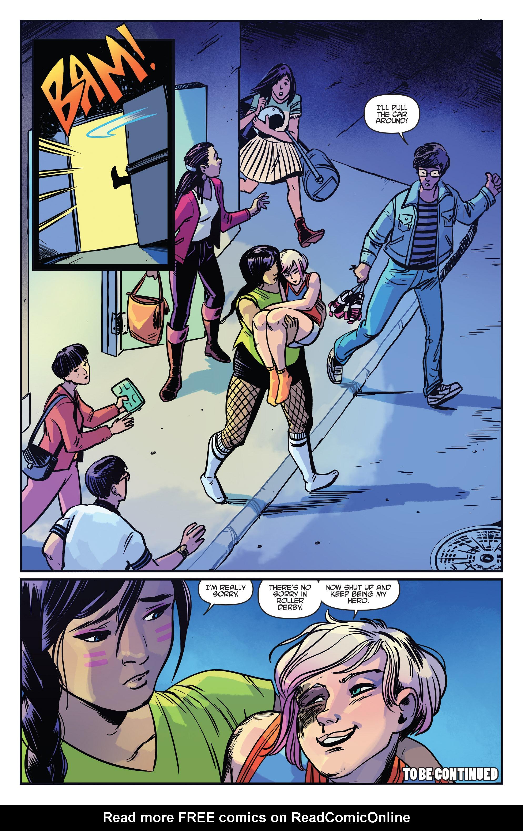 Read online Slam! comic -  Issue #4 - 24