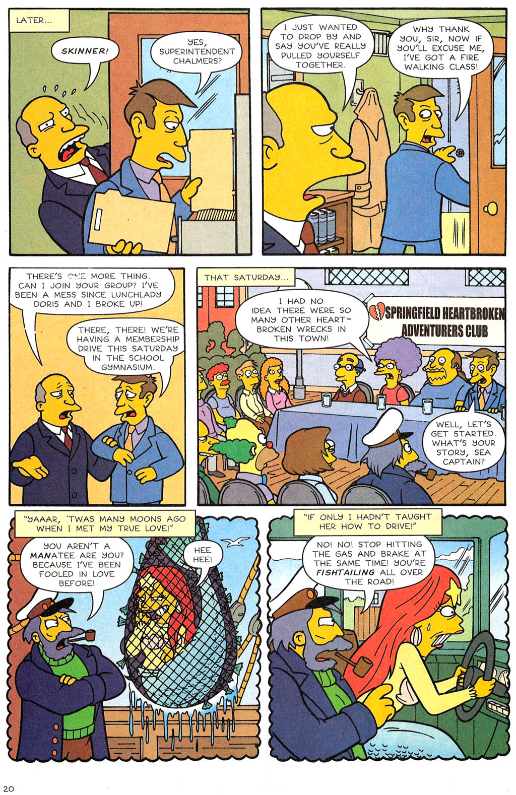 Read online Simpsons Comics comic -  Issue #118 - 16