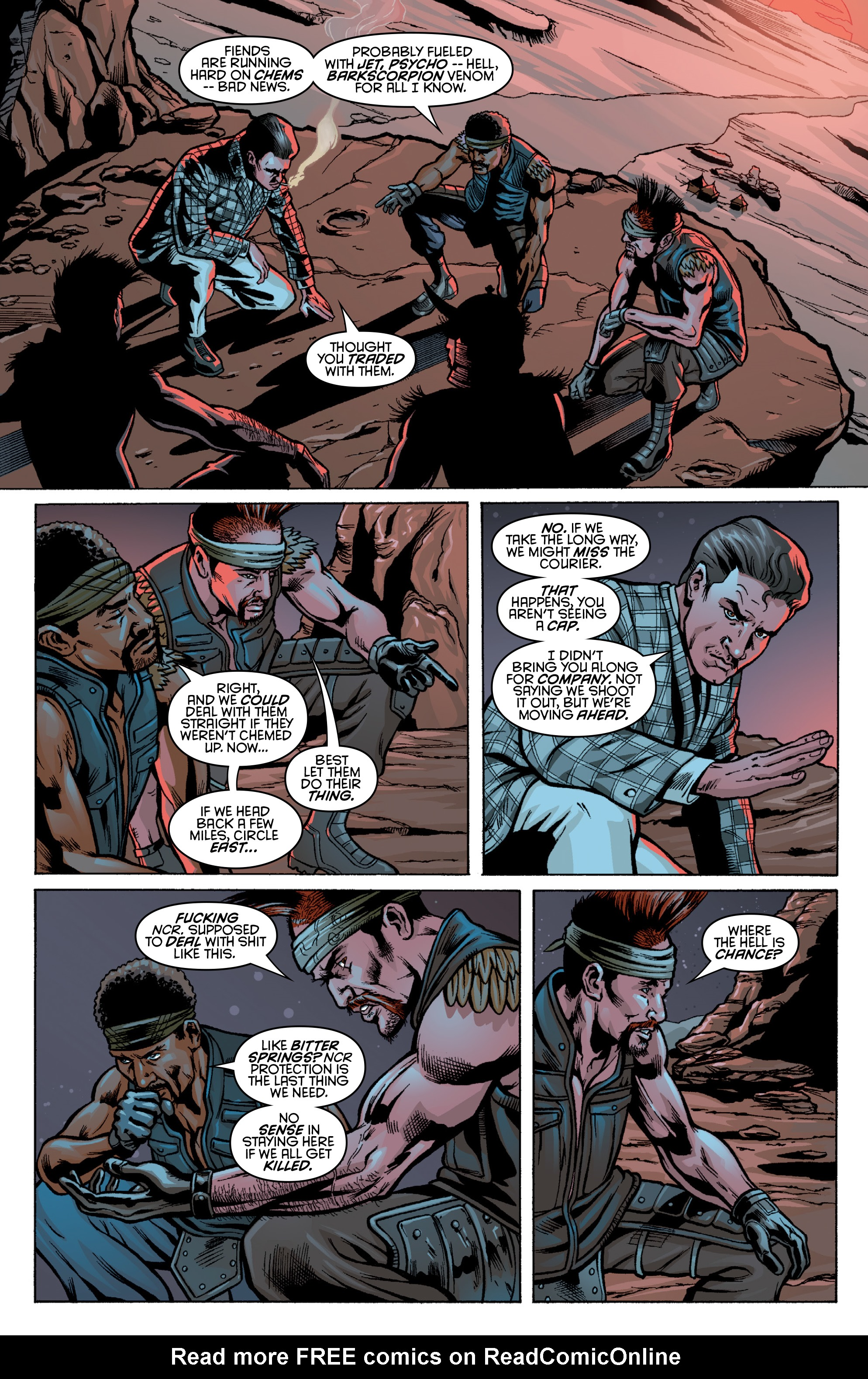 Read online Fallout: New Vegas-All Roads comic -  Issue # Full - 26