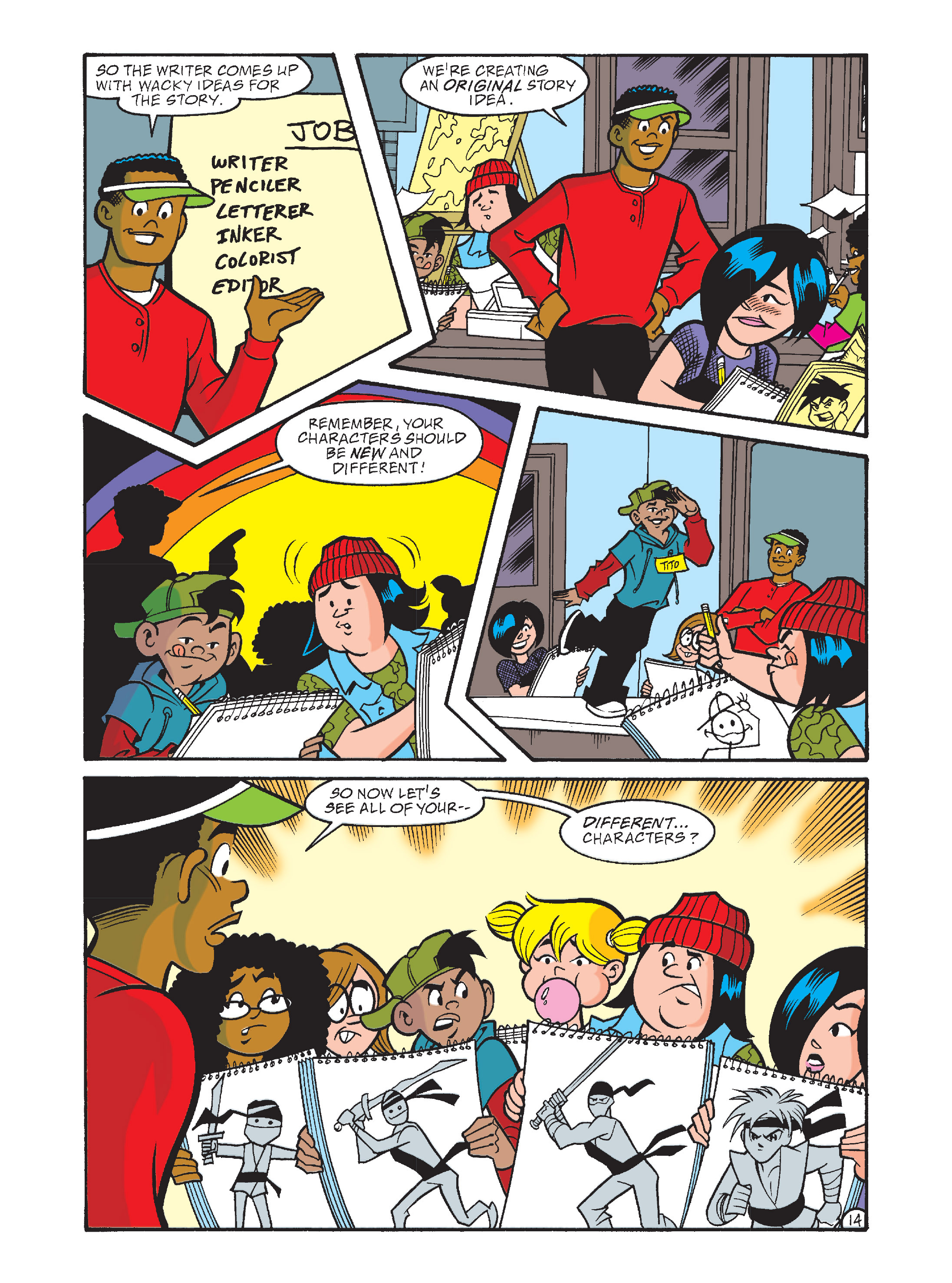 Read online Archie's Funhouse Double Digest comic -  Issue #8 - 49