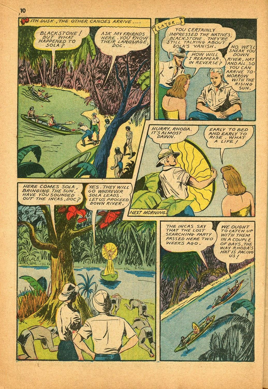 Read online Super-Magician Comics comic -  Issue #9 - 10
