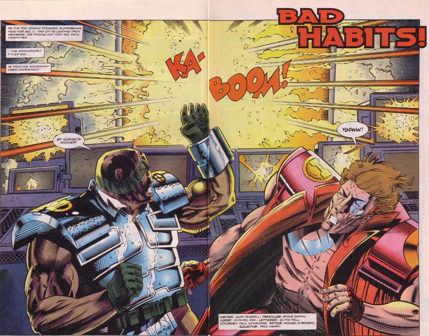 Read online Cyberspace 3000 comic -  Issue #5 - 3