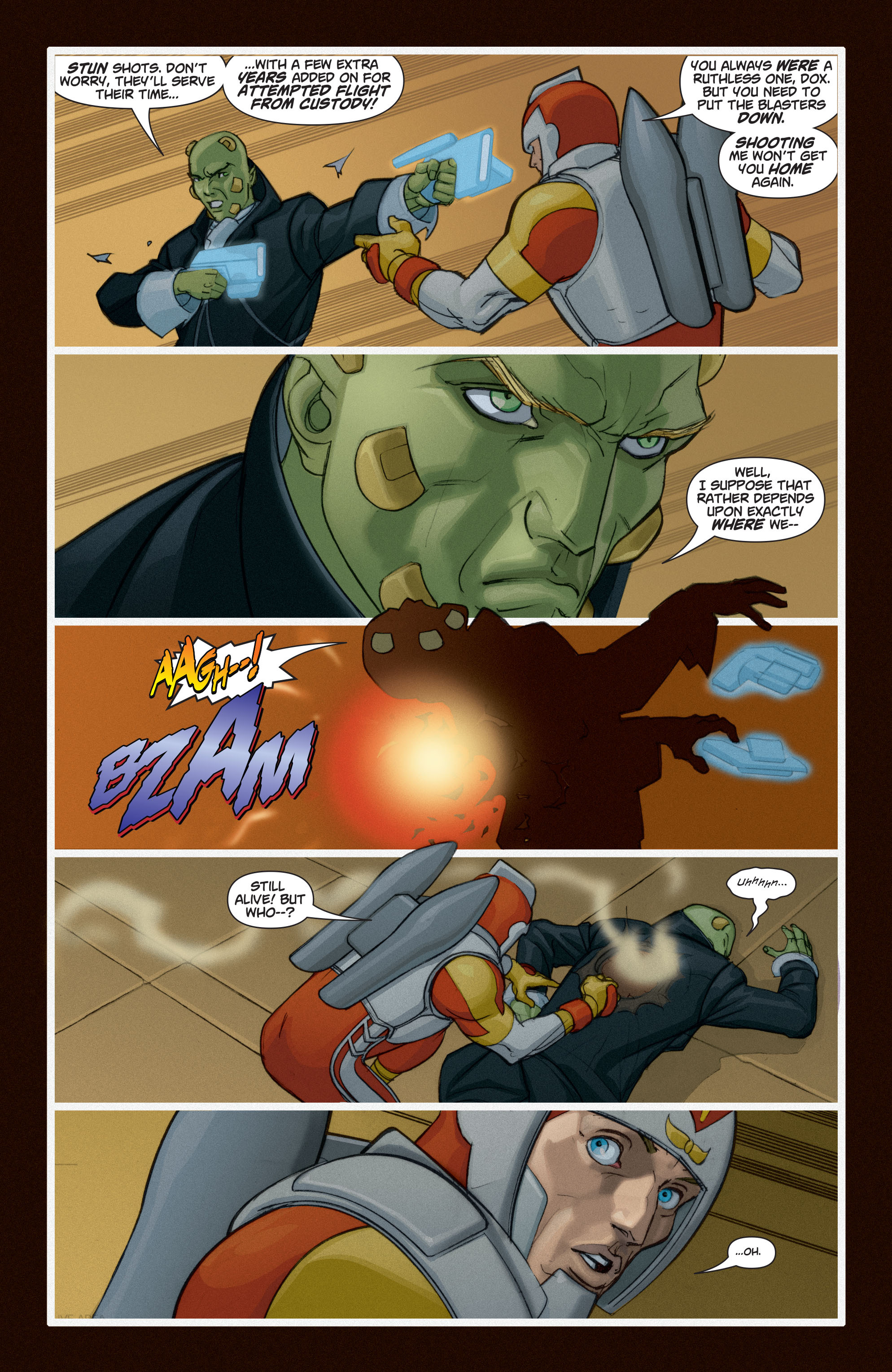 Read online Adam Strange (2004) comic -  Issue #6 - 22