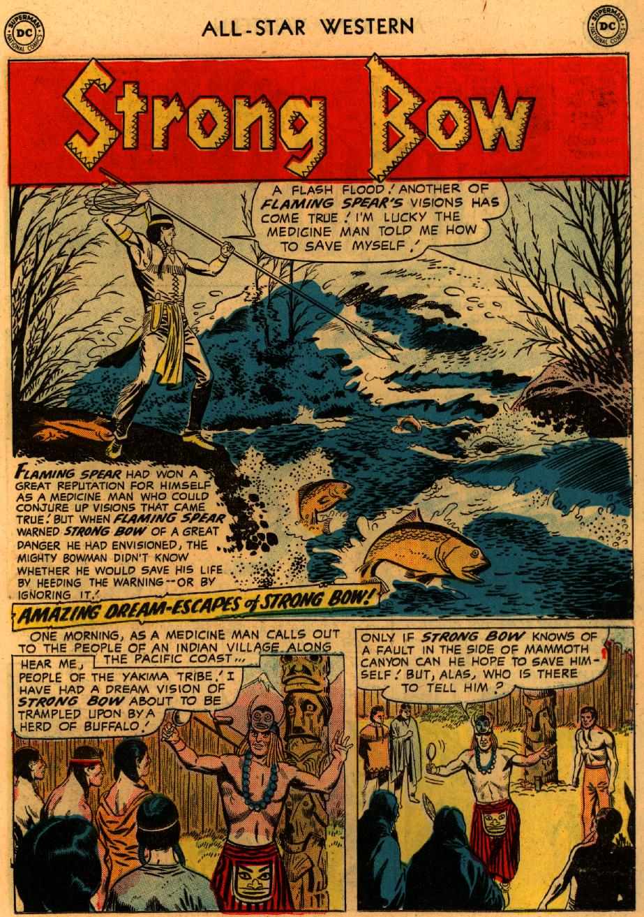 Read online All-Star Western (1951) comic -  Issue #94 - 11