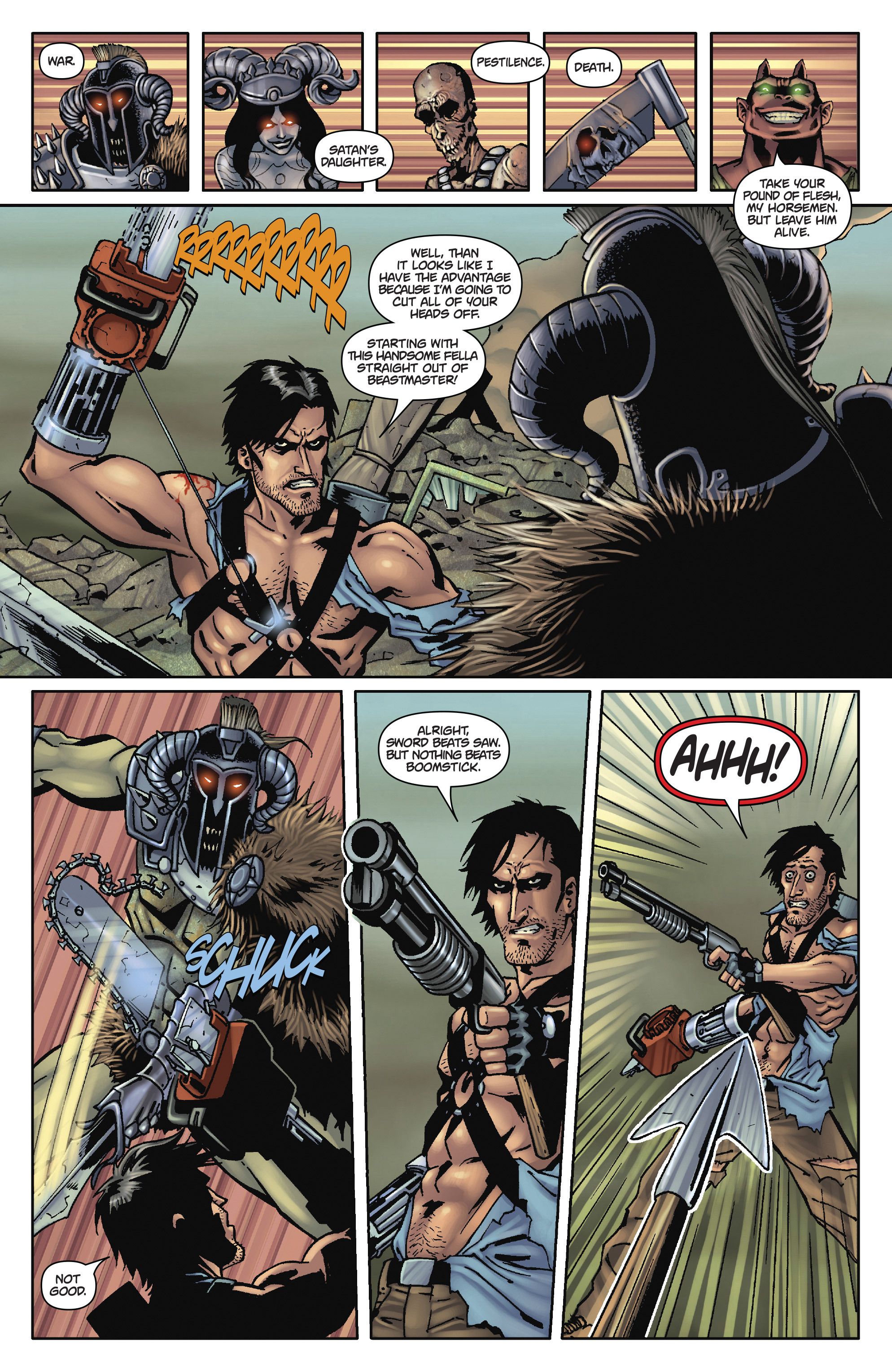 Read online Army of Darkness: The Long Road Home comic -  Issue #Army of Darkness: The Long Road Home TPB - 95