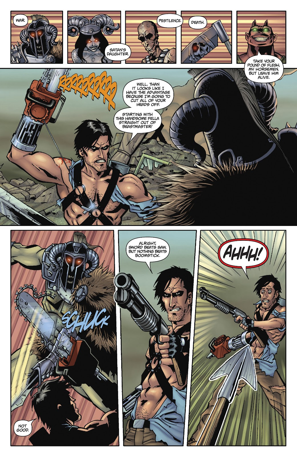 Army of Darkness: The Long Road Home issue TPB - Page 95