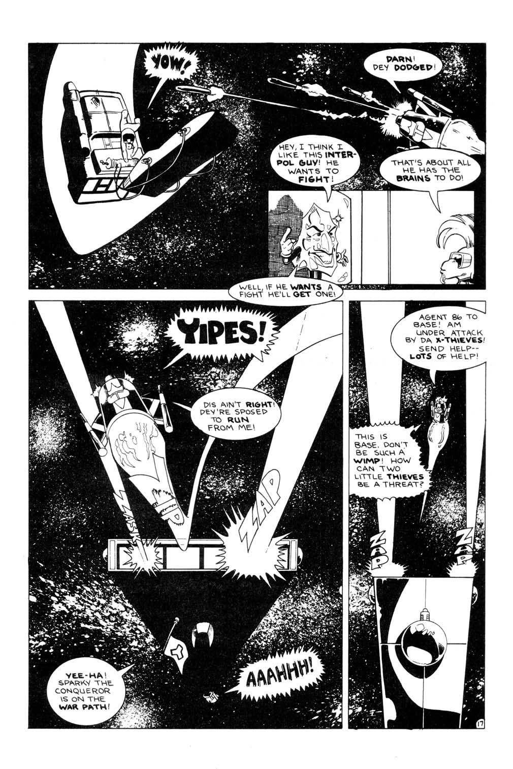 Aristocratic Xtraterrestrial Time-Traveling Thieves issue 7 - Page 19