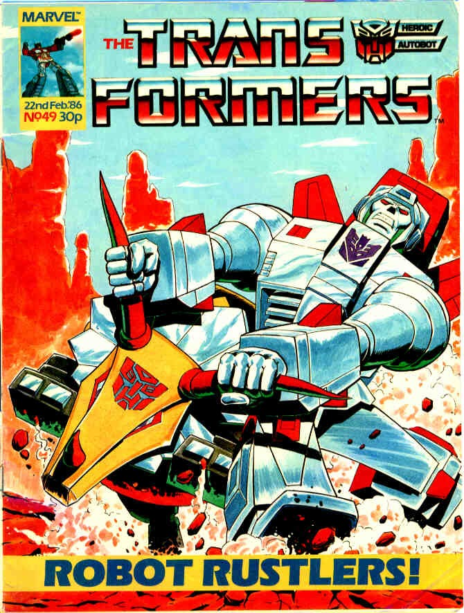 The Transformers (UK) 49 Page 1