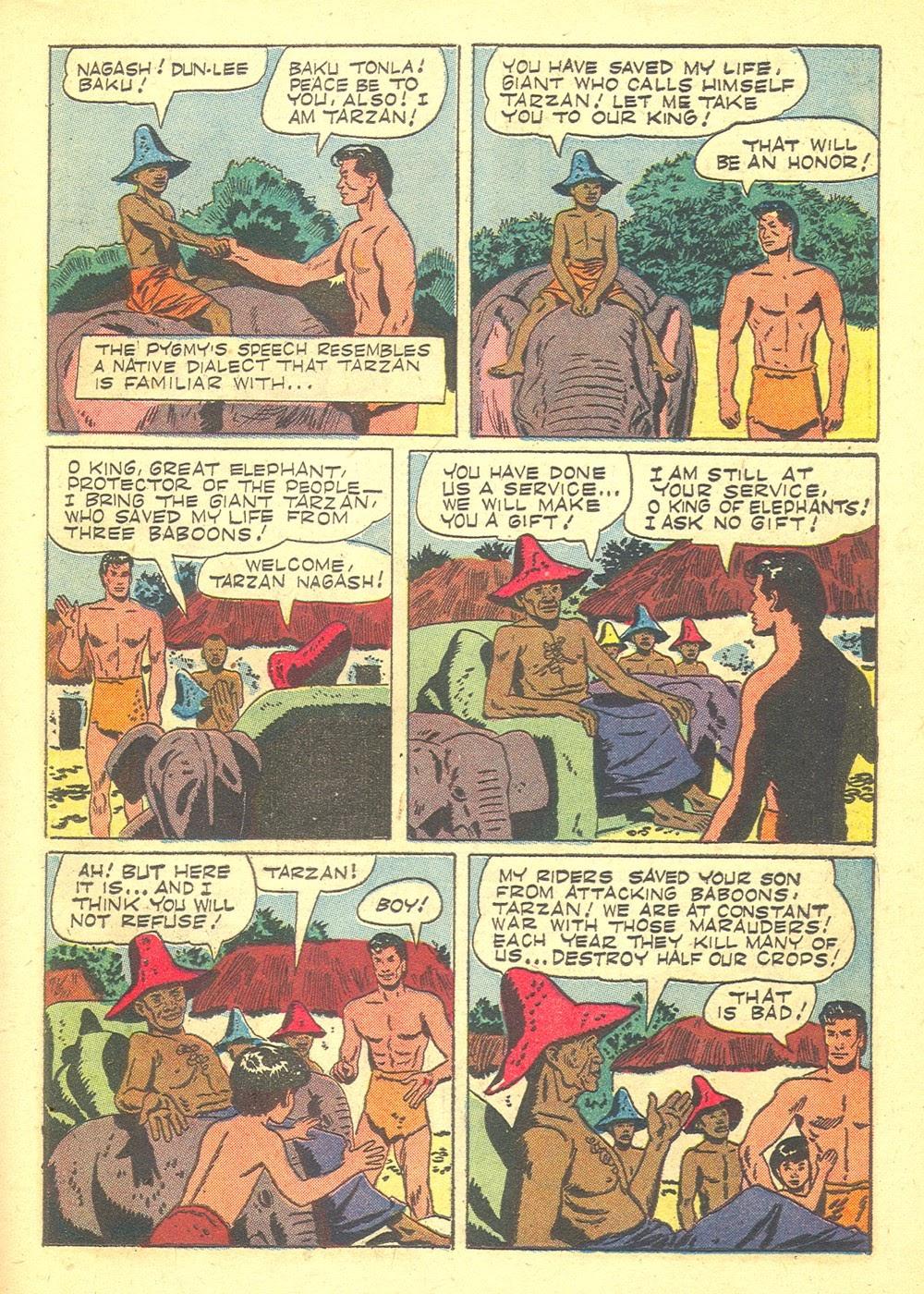 Tarzan (1948) issue 70 - Page 23