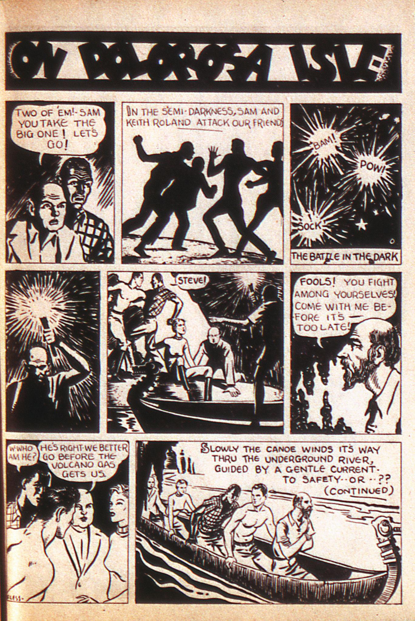 Read online Adventure Comics (1938) comic -  Issue #8 - 38
