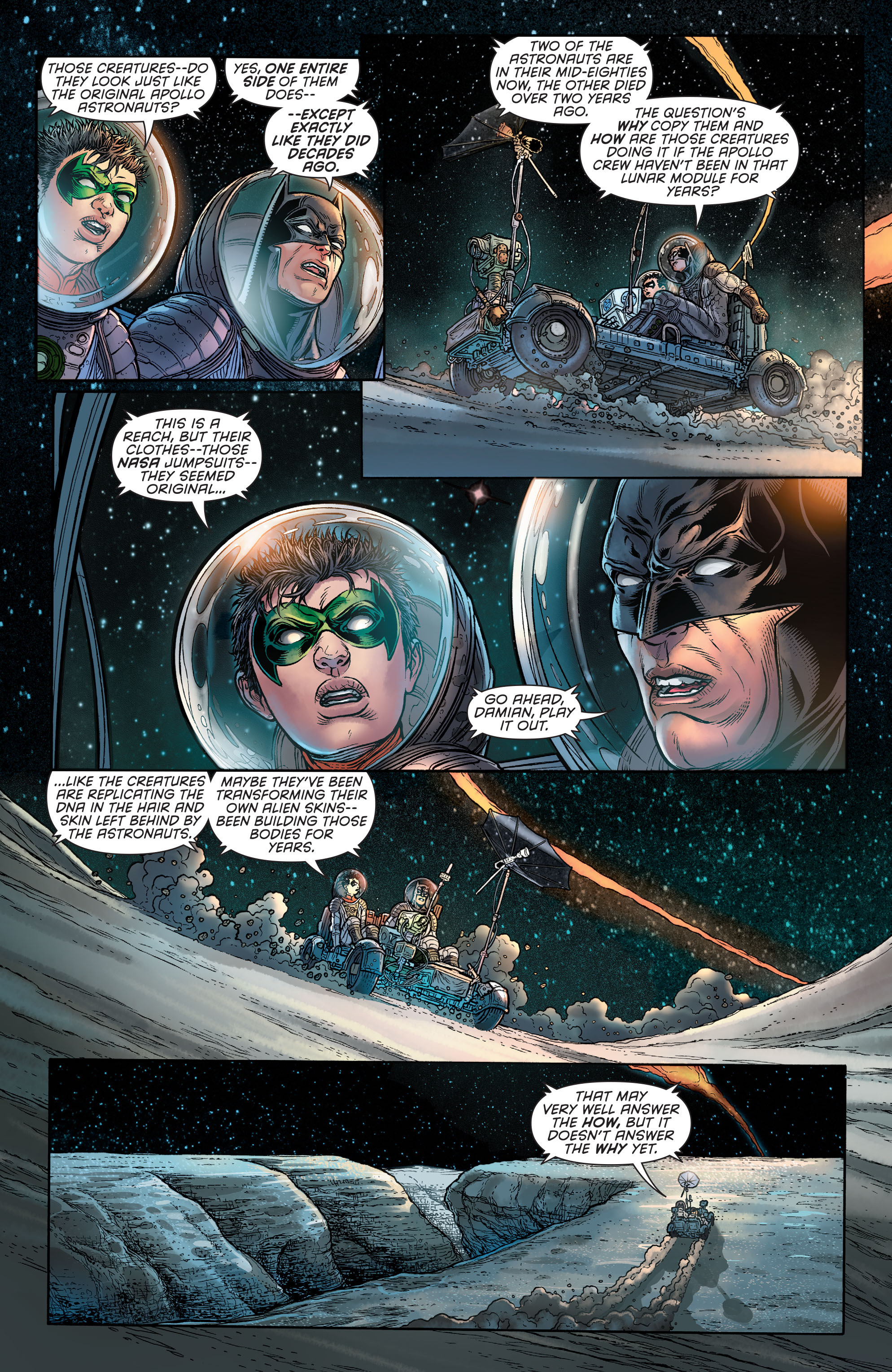 Read online Batman and Robin (2011) comic -  Issue # Annual 3 - 16