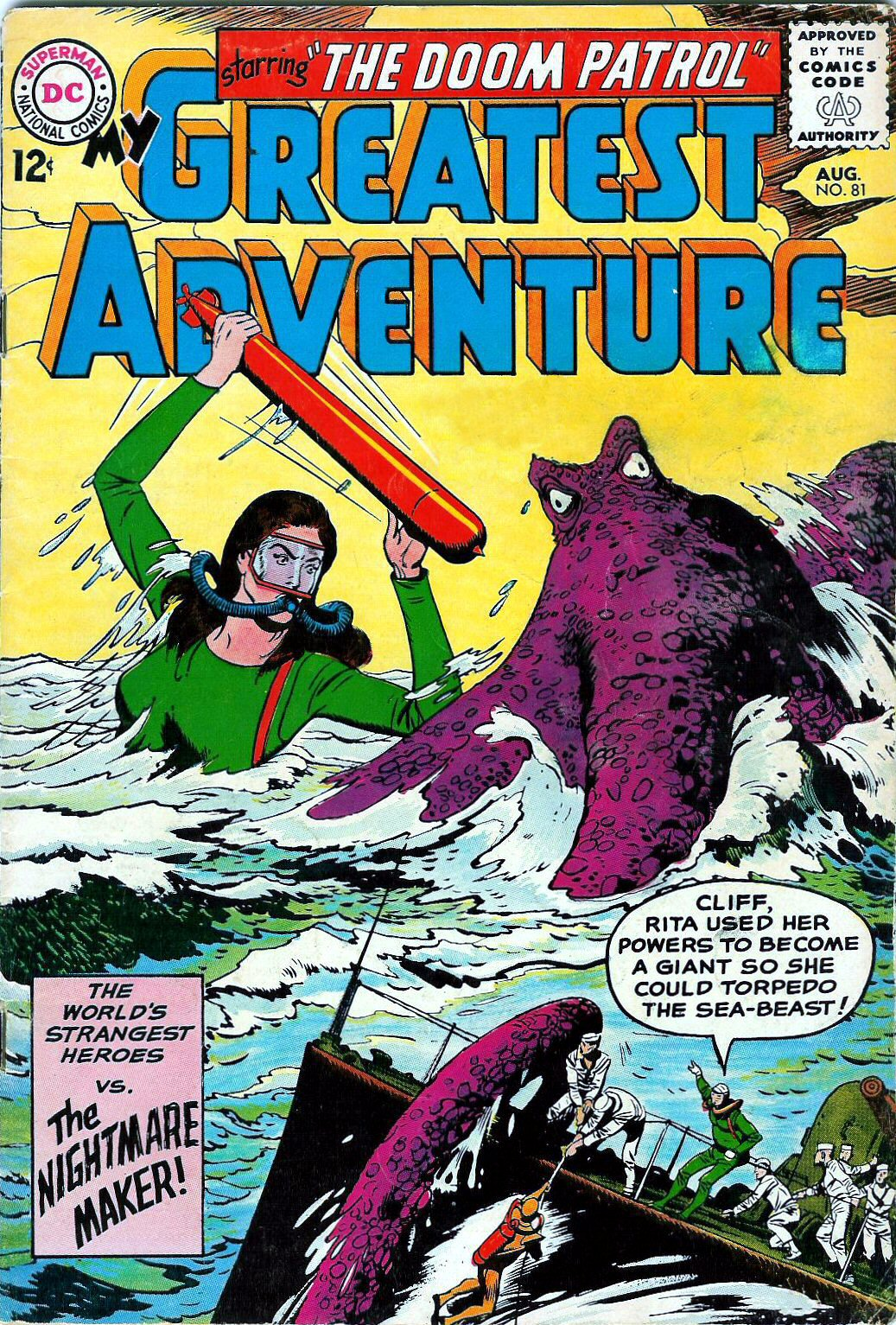 My Greatest Adventure (1955) issue 81 - Page 1
