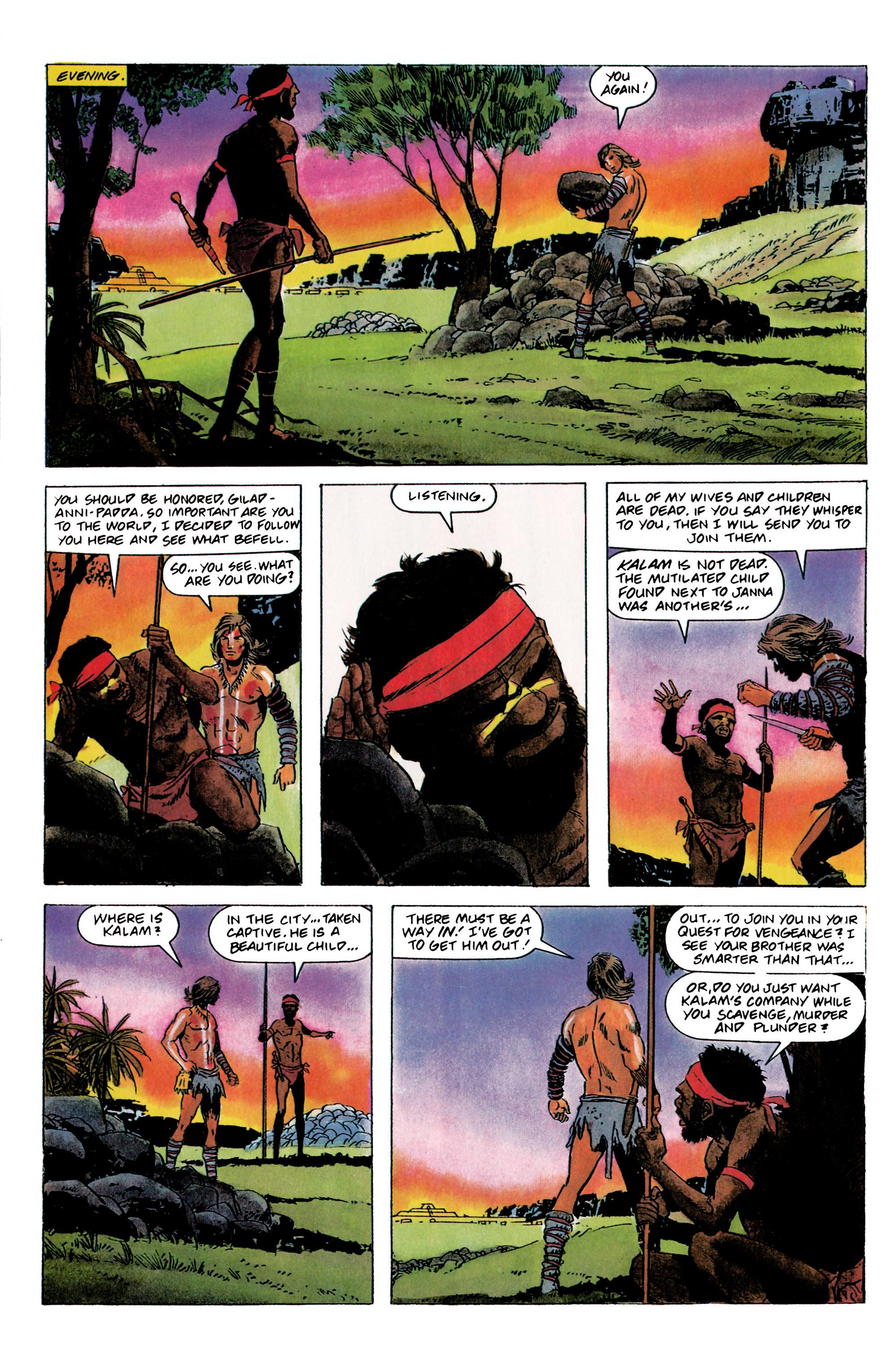 Read online Eternal Warrior (1992) comic -  Issue #1 - 16