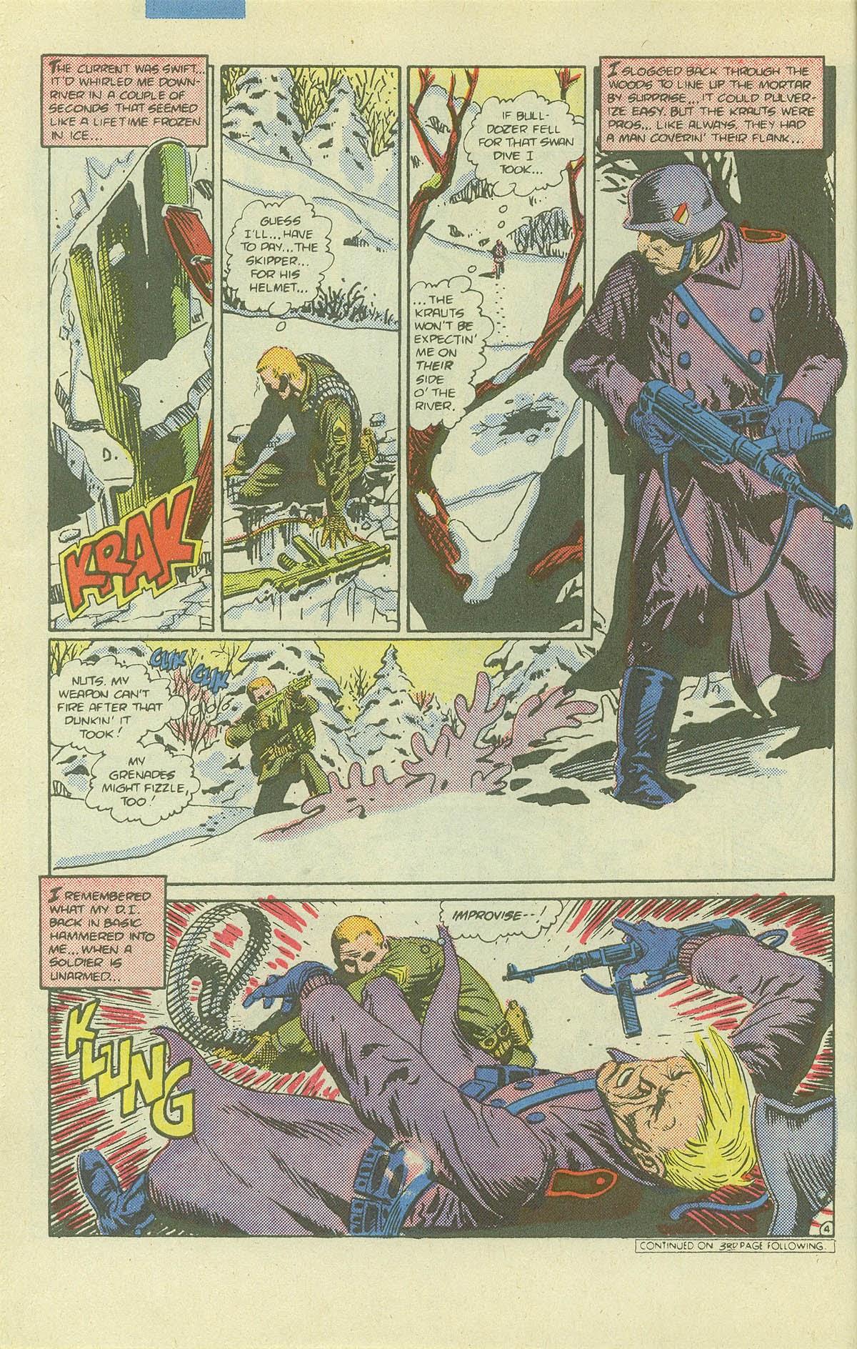 Read online Sgt. Rock comic -  Issue #411 - 5