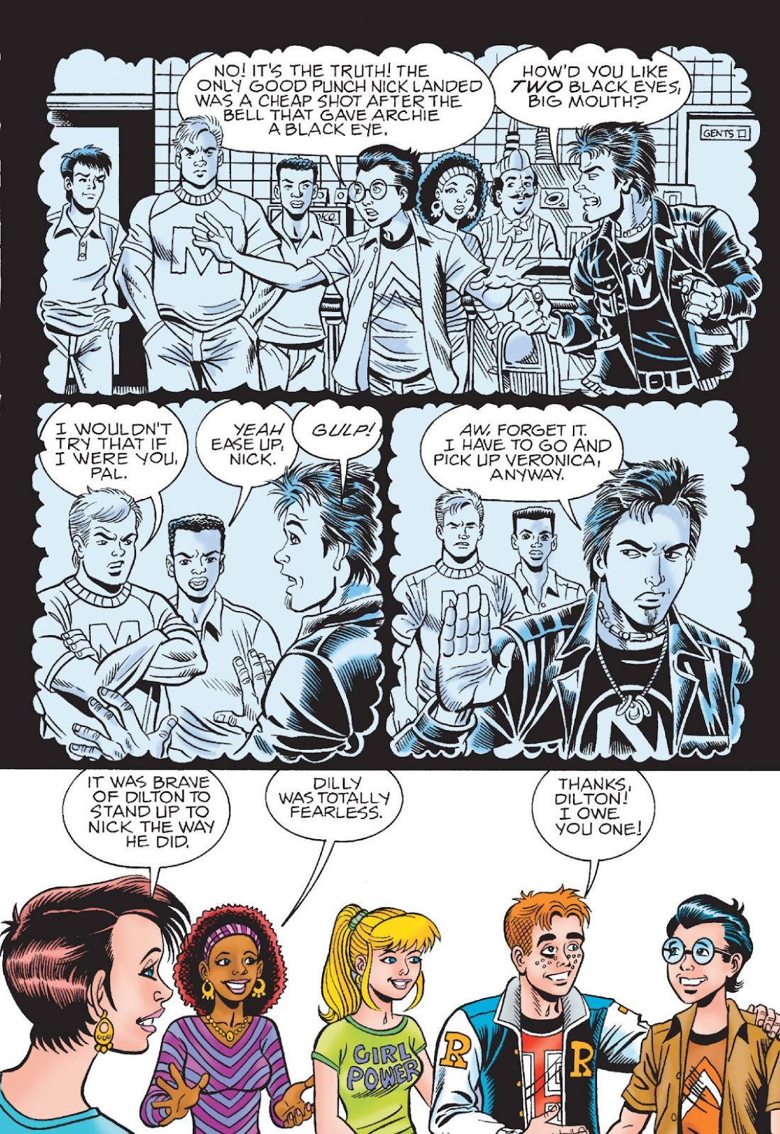 Read online Archie's New Look Series comic -  Issue #1 - 91