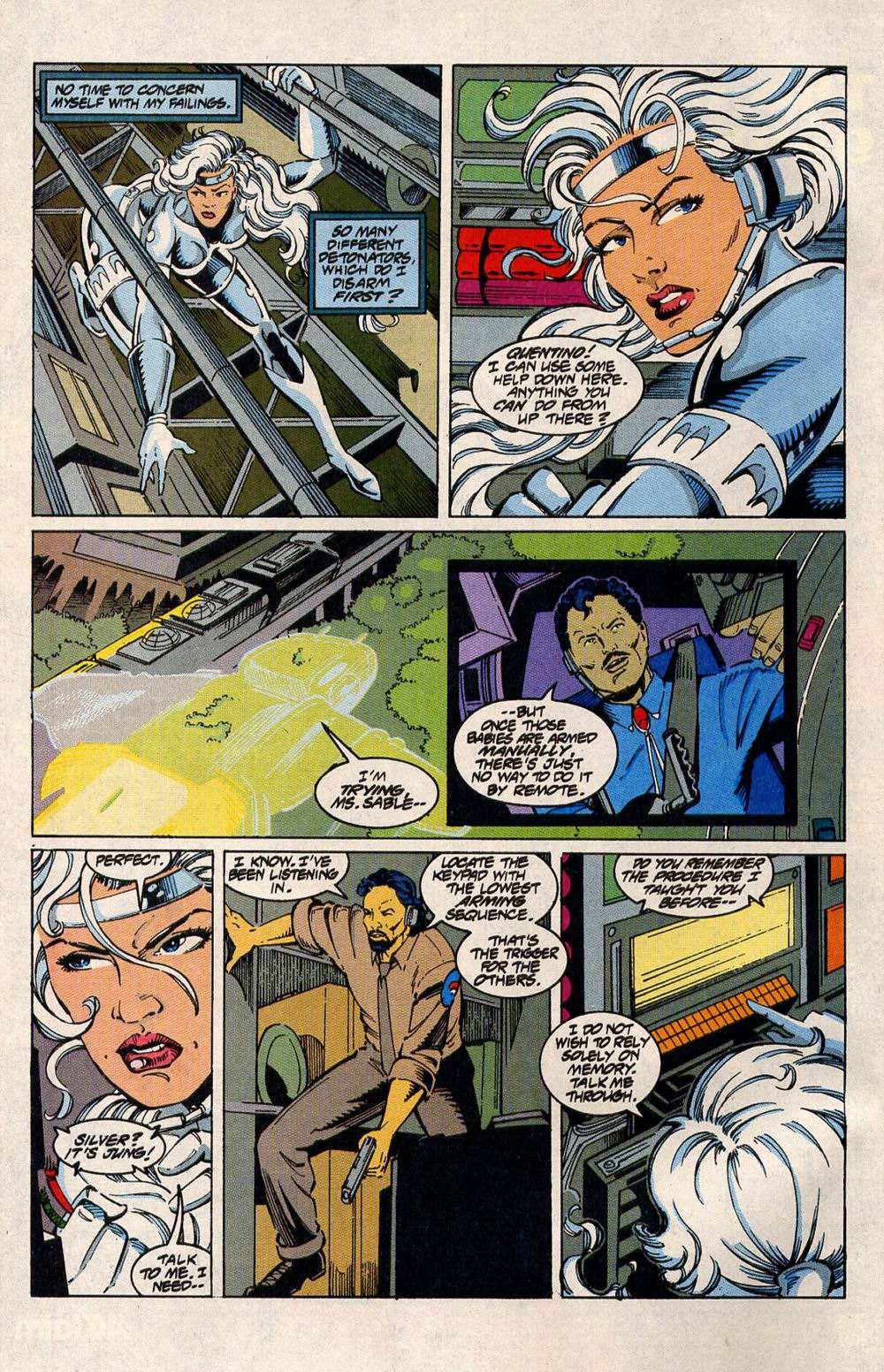 Read online Silver Sable and the Wild Pack comic -  Issue #33 - 6
