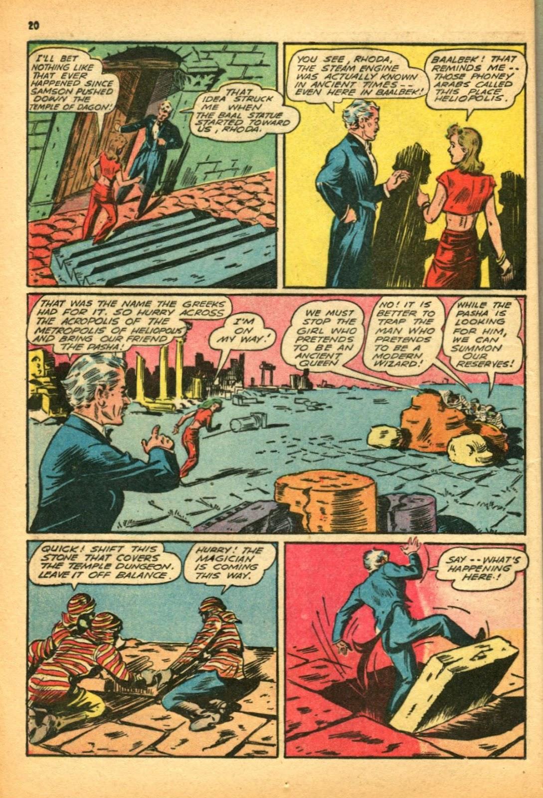Read online Super-Magician Comics comic -  Issue #12 - 20