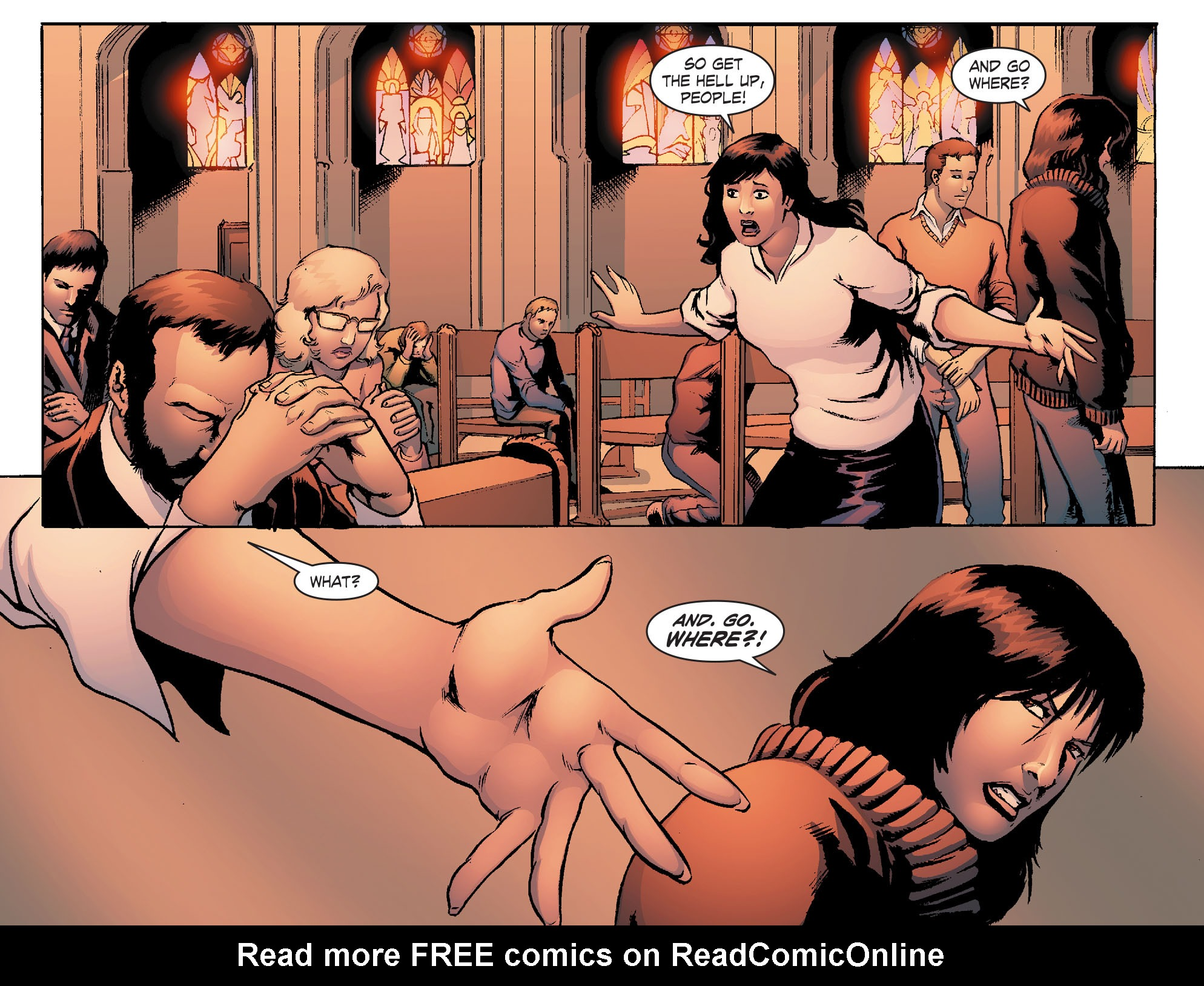 Read online Smallville: Chaos [II] comic -  Issue #4 - 8