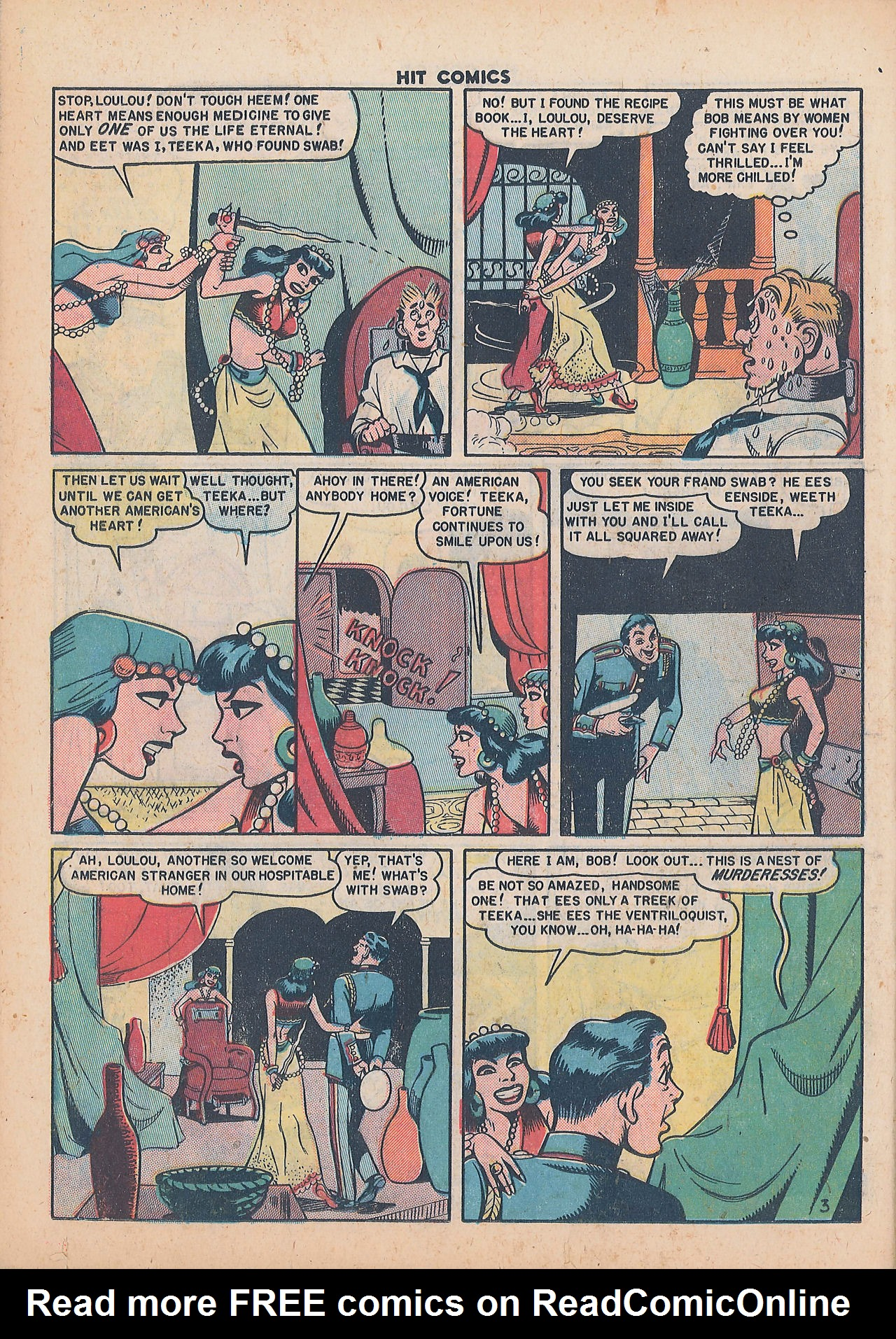 Read online Hit Comics comic -  Issue #64 - 24