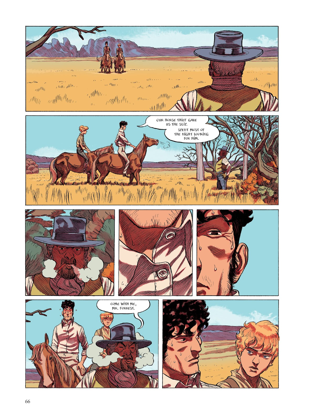 Read online The Smell of Starving Boys comic -  Issue # TPB - 67