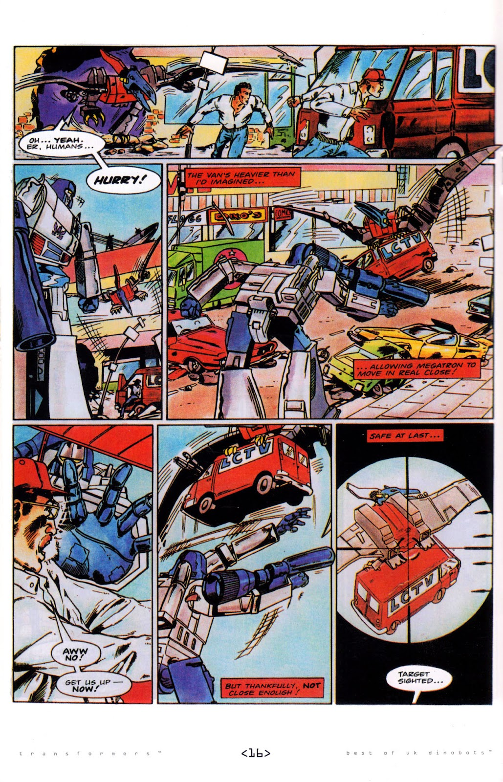 Read online The Transformers: Best of UK: Dinobots comic -  Issue #5 - 18