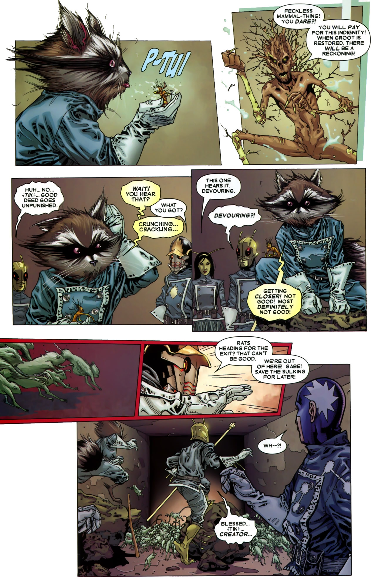 Read online Annihilation: Conquest - Starlord comic -  Issue #3 - 10