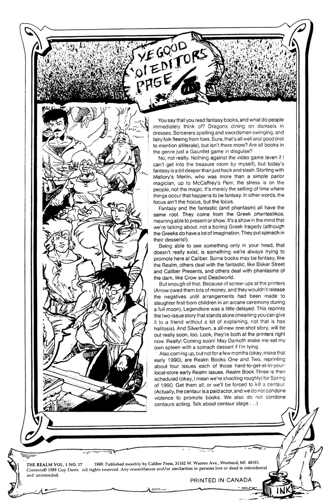 The Realm (1986) issue 17 - Page 2