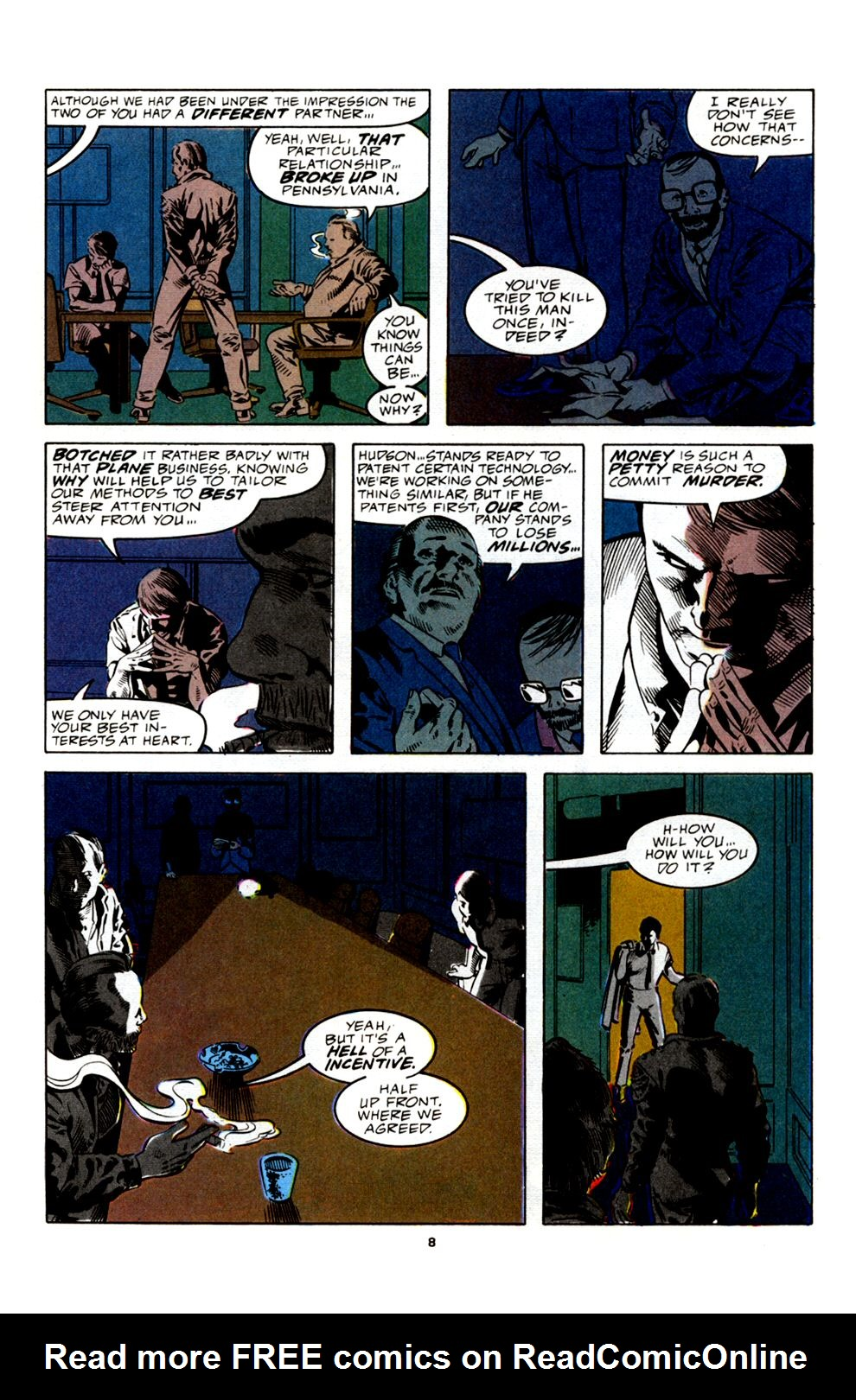 Read online Powerline comic -  Issue #4 - 10