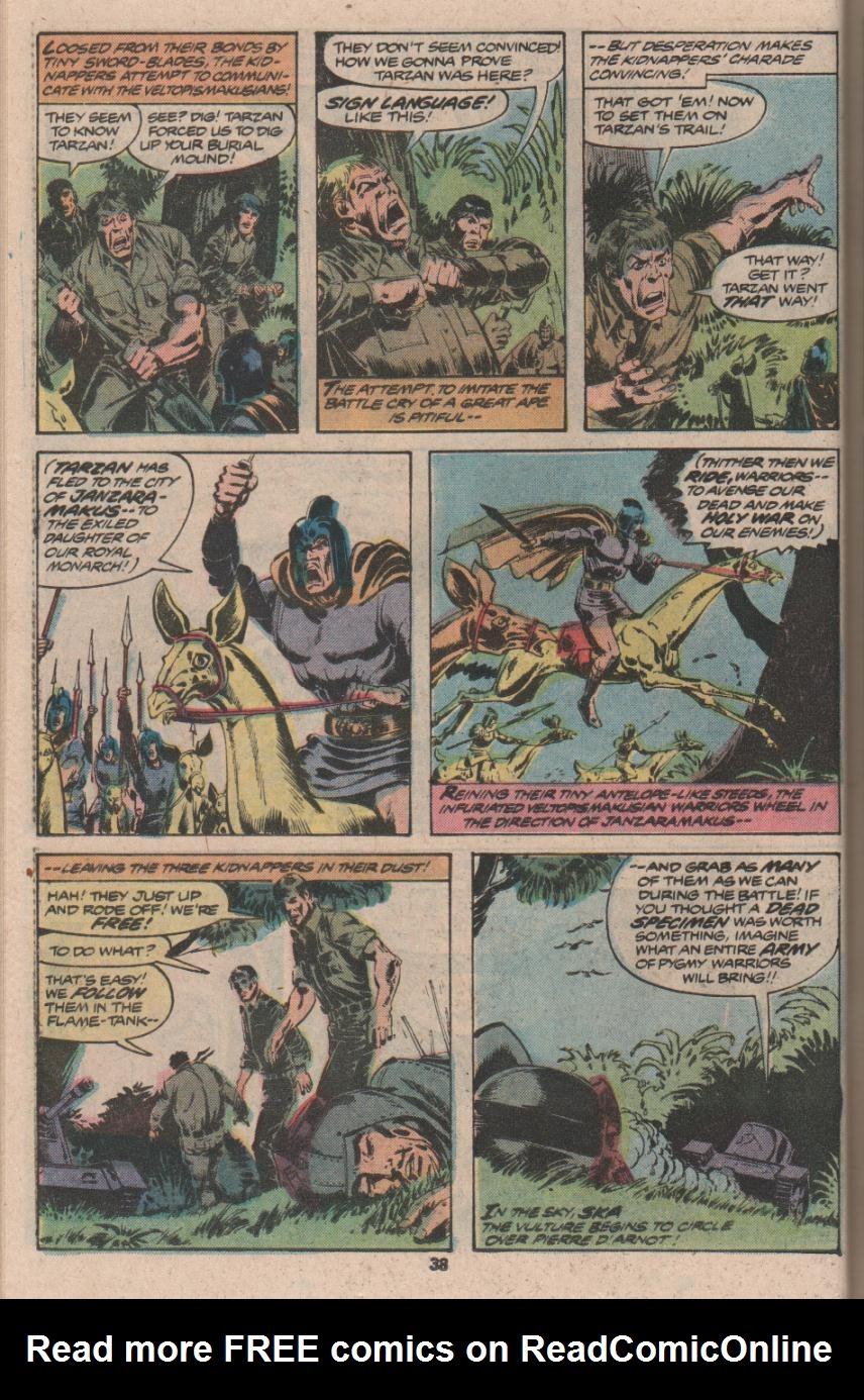 Read online Tarzan (1977) comic -  Issue # _Annual 3 - 29