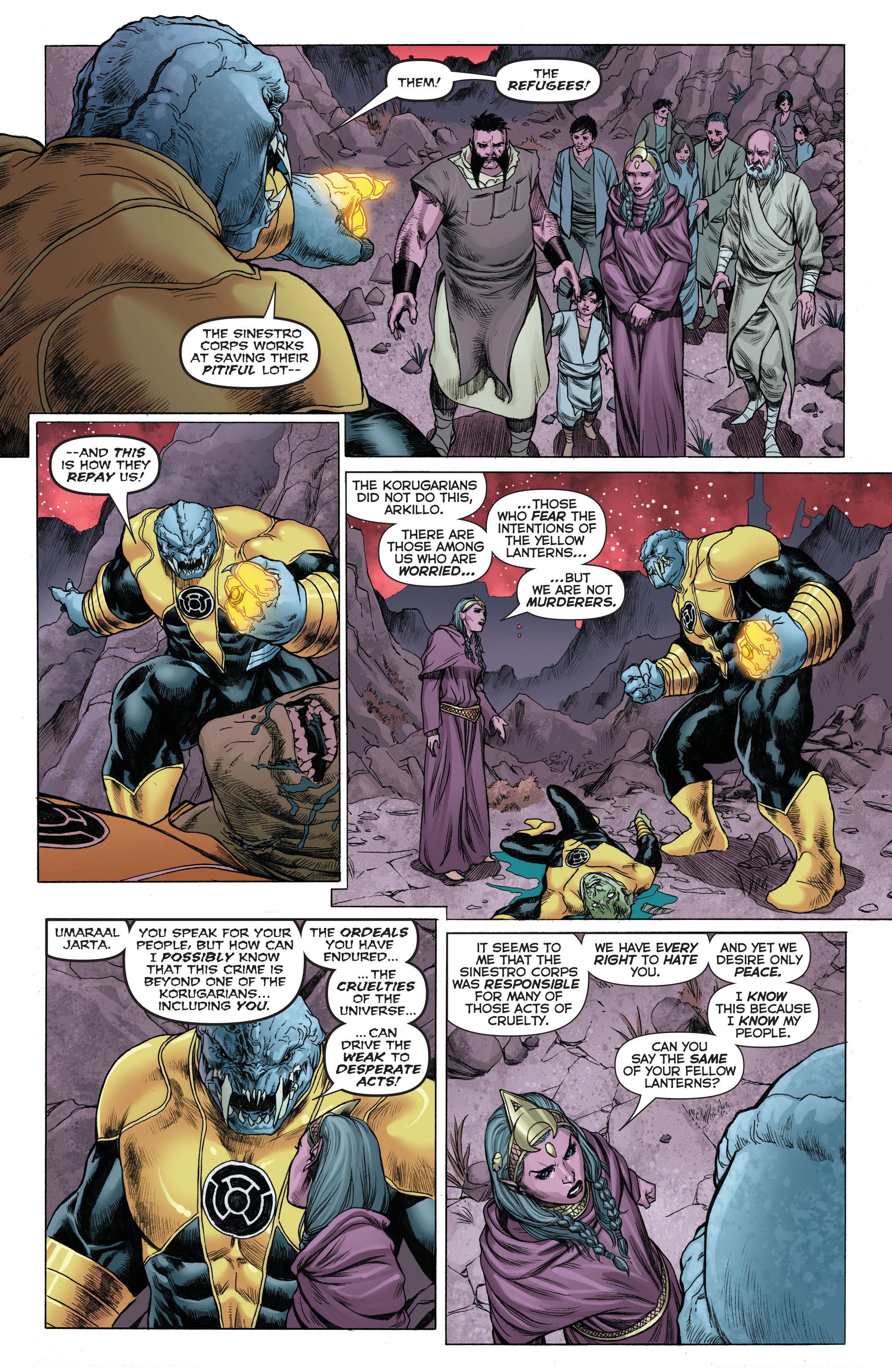 Read online Sinestro comic -  Issue # Annual 1 - 4