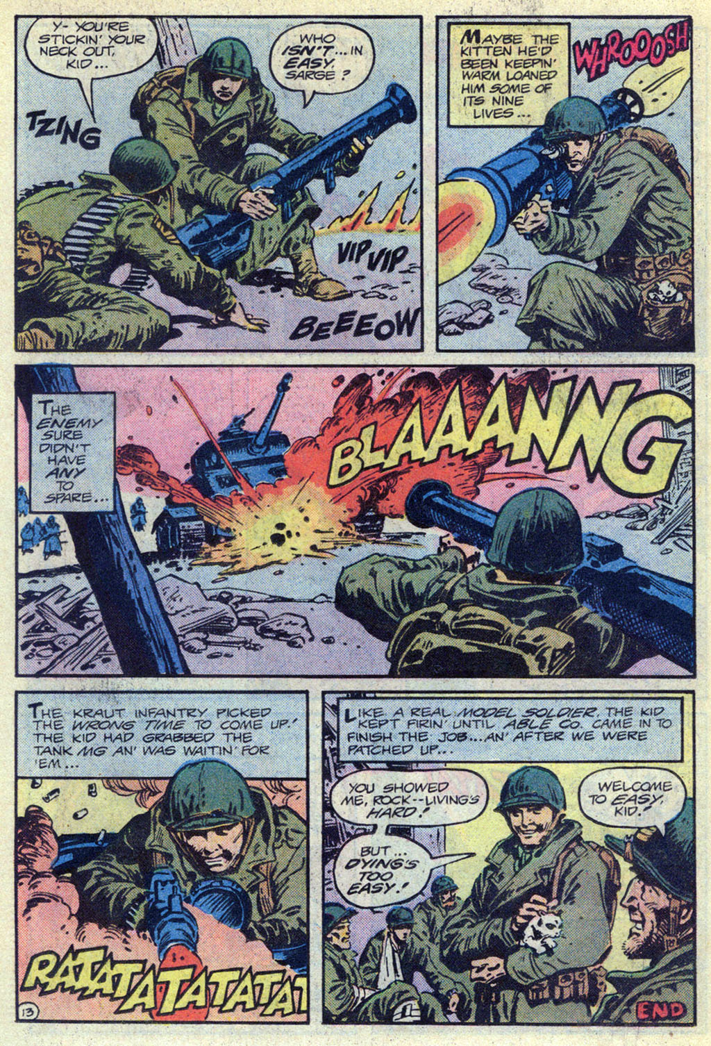 Read online Sgt. Rock comic -  Issue #369 - 13