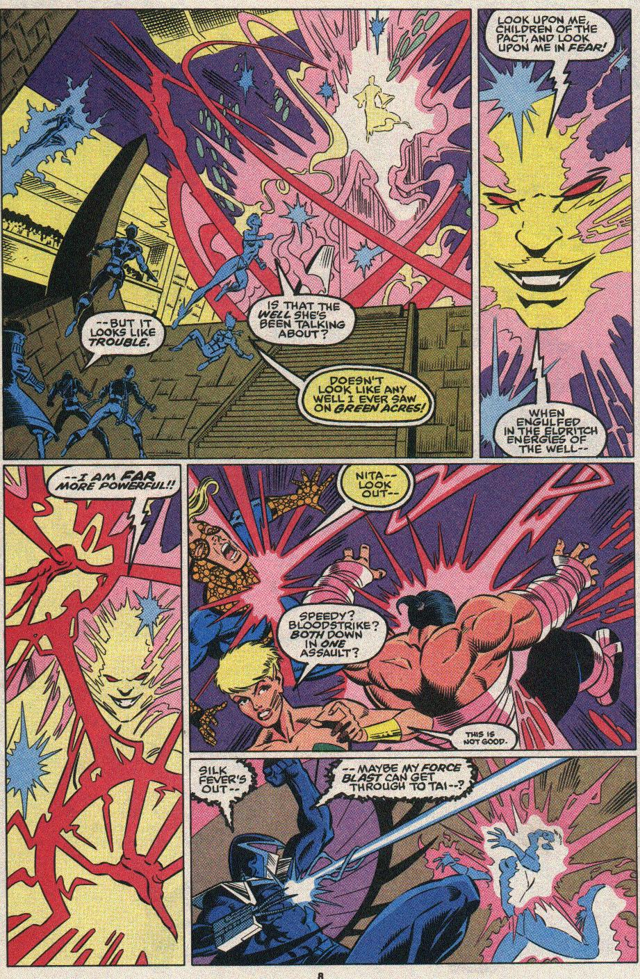 The New Warriors Issue #25 #29 - English 7