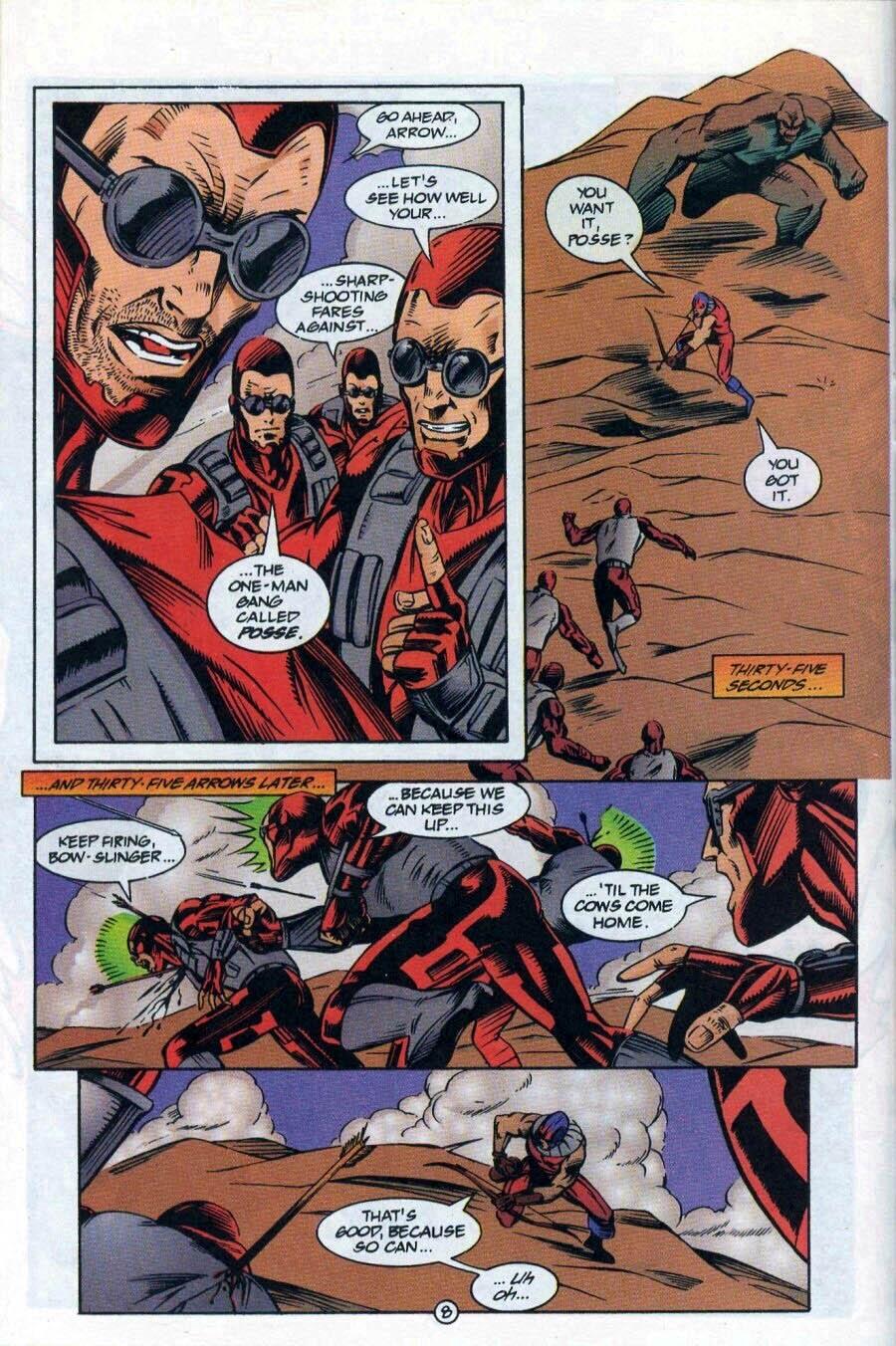 Read online Ex-Mutants comic -  Issue #17 - 9