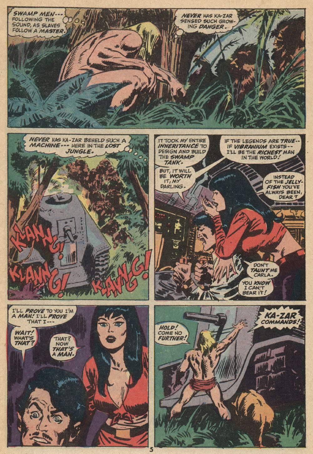 Astonishing Tales (1970) issue 14 - Page 5