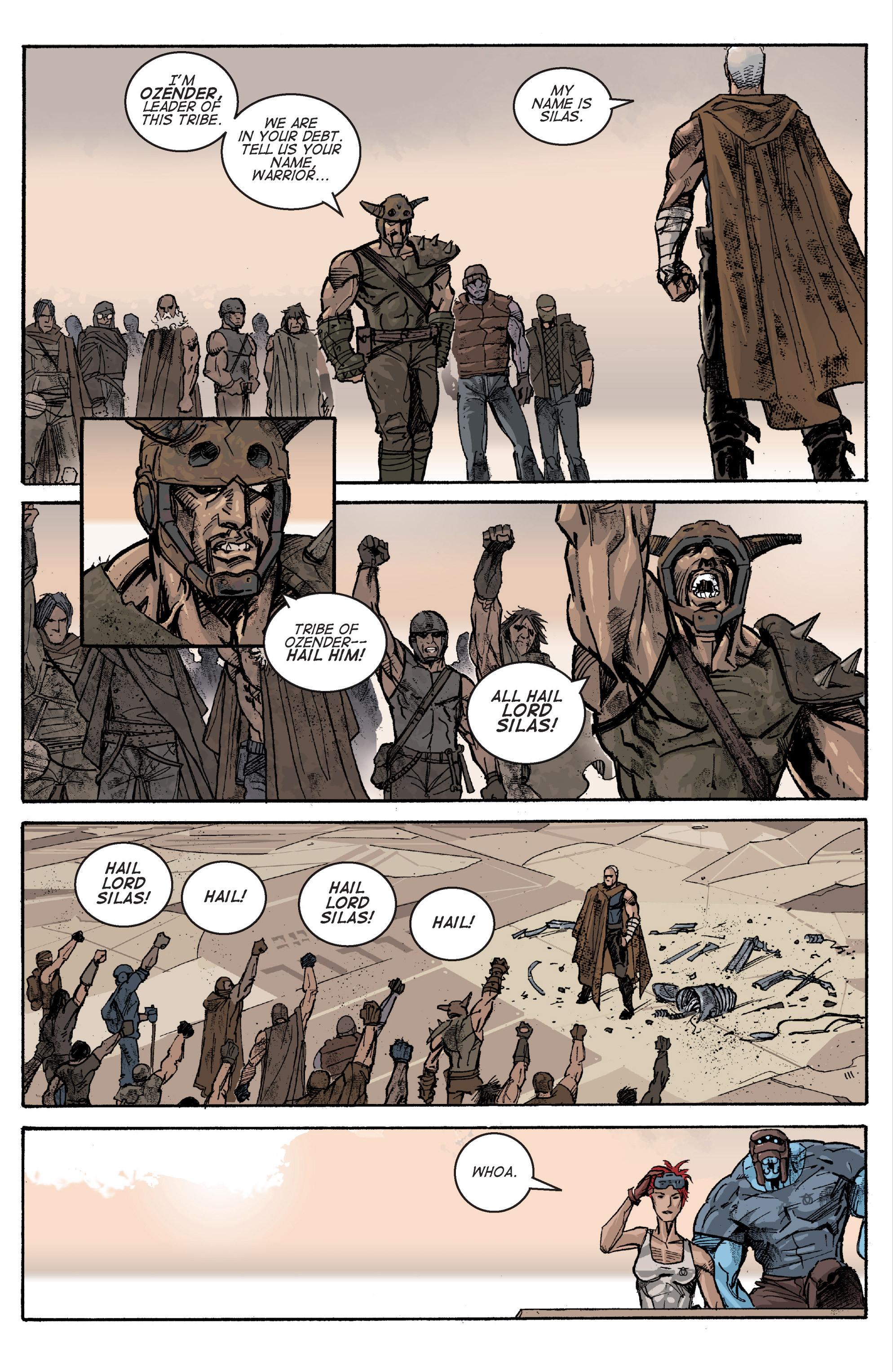 Read online Planetoid comic -  Issue # TPB - 72