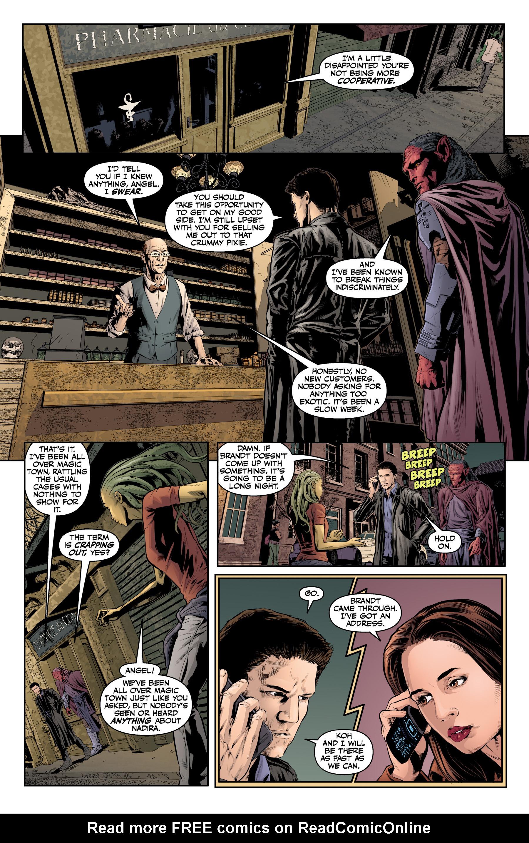 Read online Angel & Faith Season 10 comic -  Issue #20 - 14