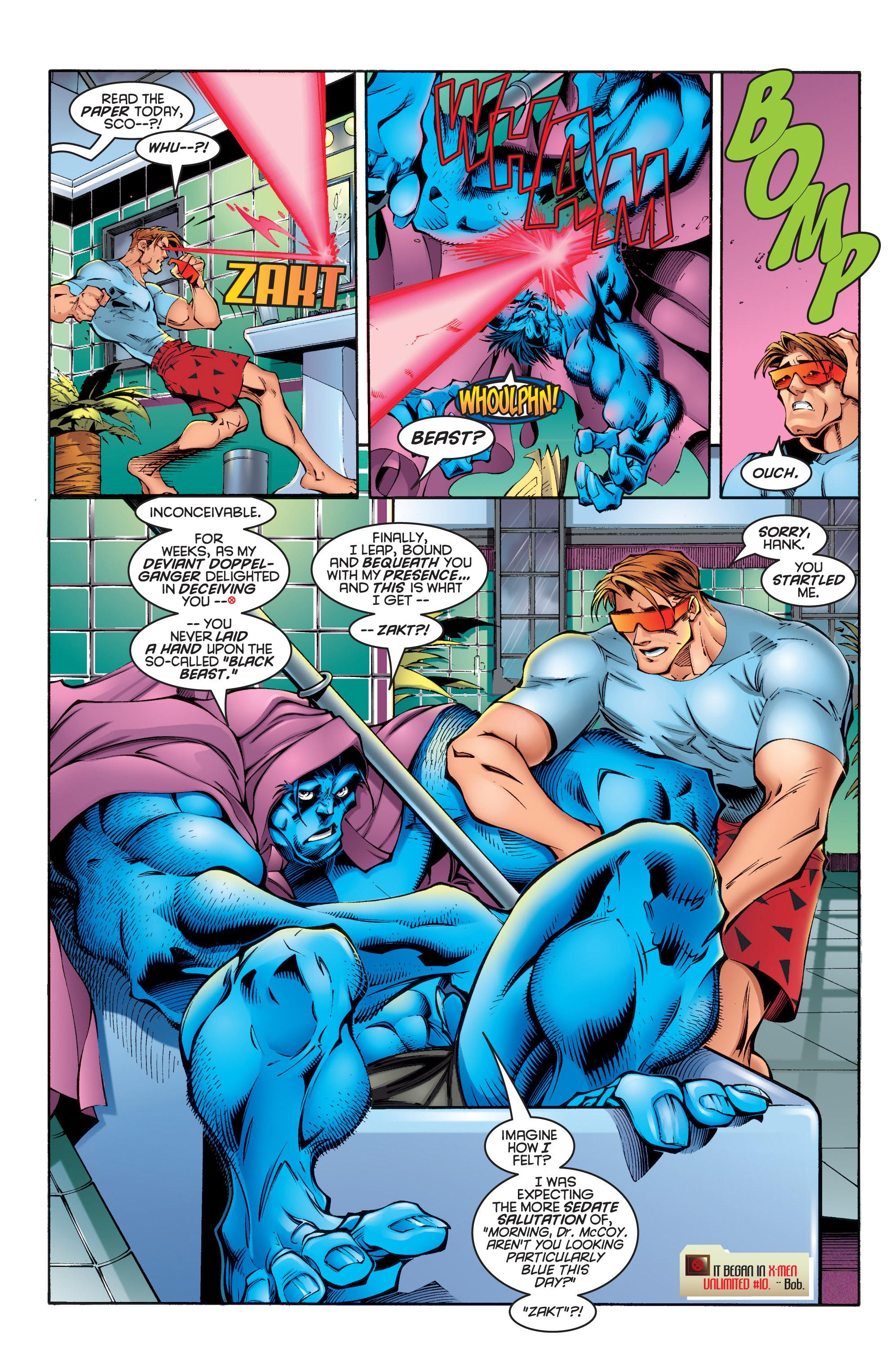 Read online Uncanny X-Men (1963) comic -  Issue #337 - 12