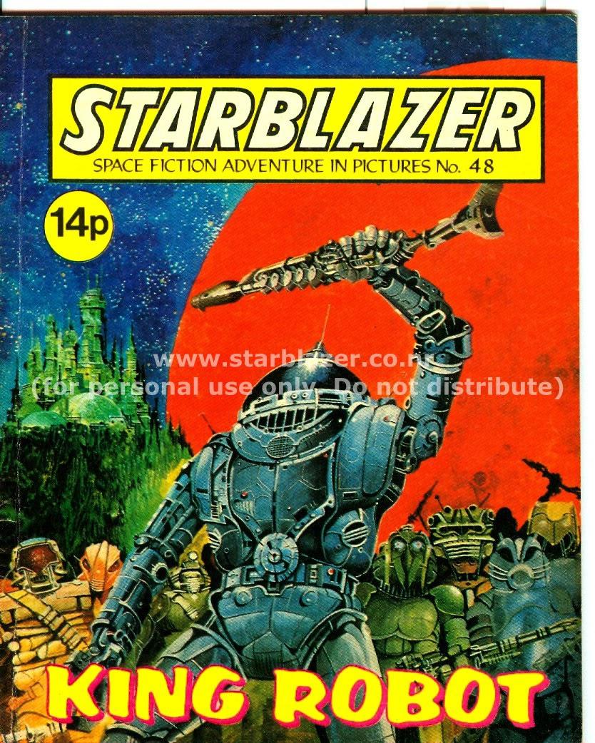 Starblazer issue 48 - Page 1
